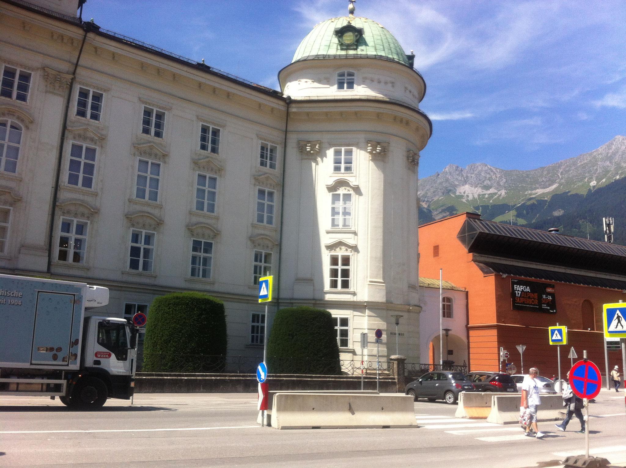 Hofburg mit Kongresshaus