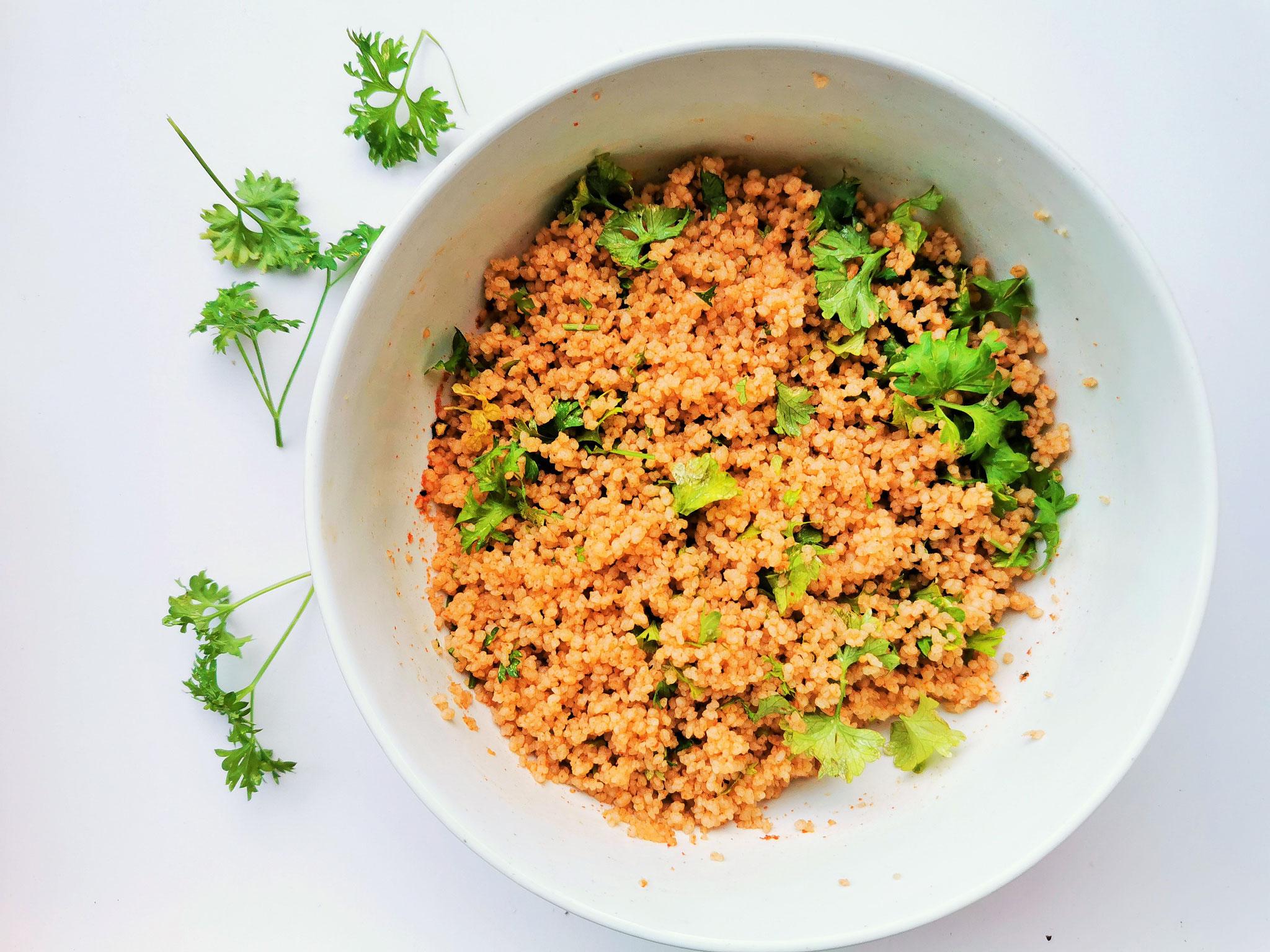 Couscous ist perfekt für die schnelle Küche