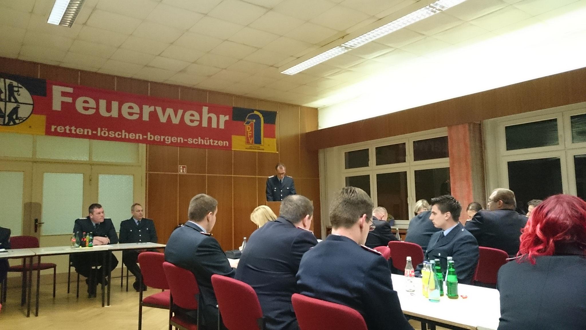 Ortswehrführer Alexander Schmidt
