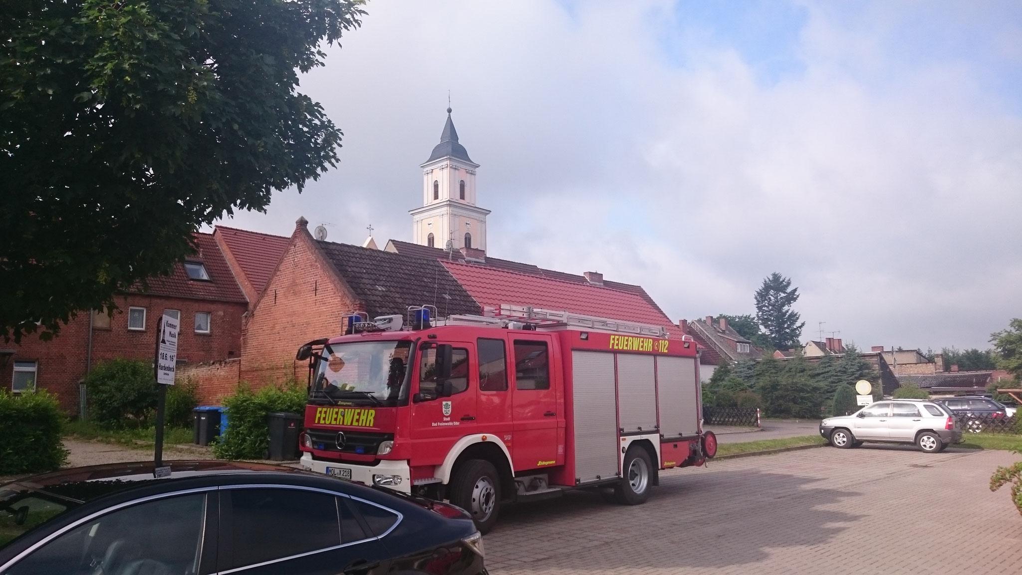 Ankunft in Boitzenburg
