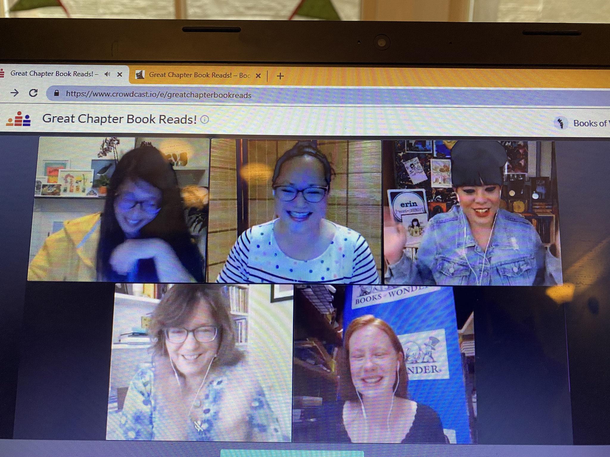 Great Chapter Books Reads Sept 2021 - Erin Entrada Kelly, Carolyn Crimi, Kate Klise and Natelle Quek (Books of Wonder Event)