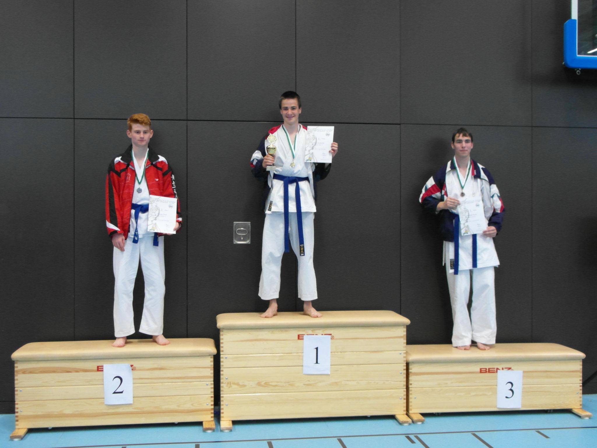 René, Kumite Platz 1