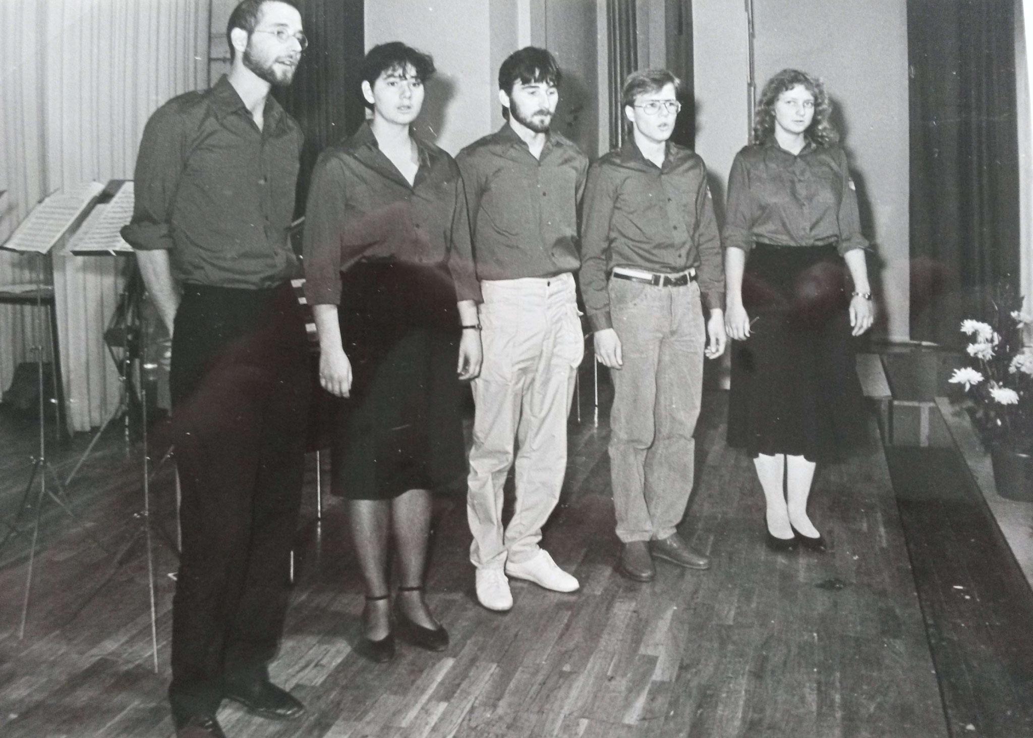 feierliche Immatrikulation an der philosophischen Fakultät - 1986