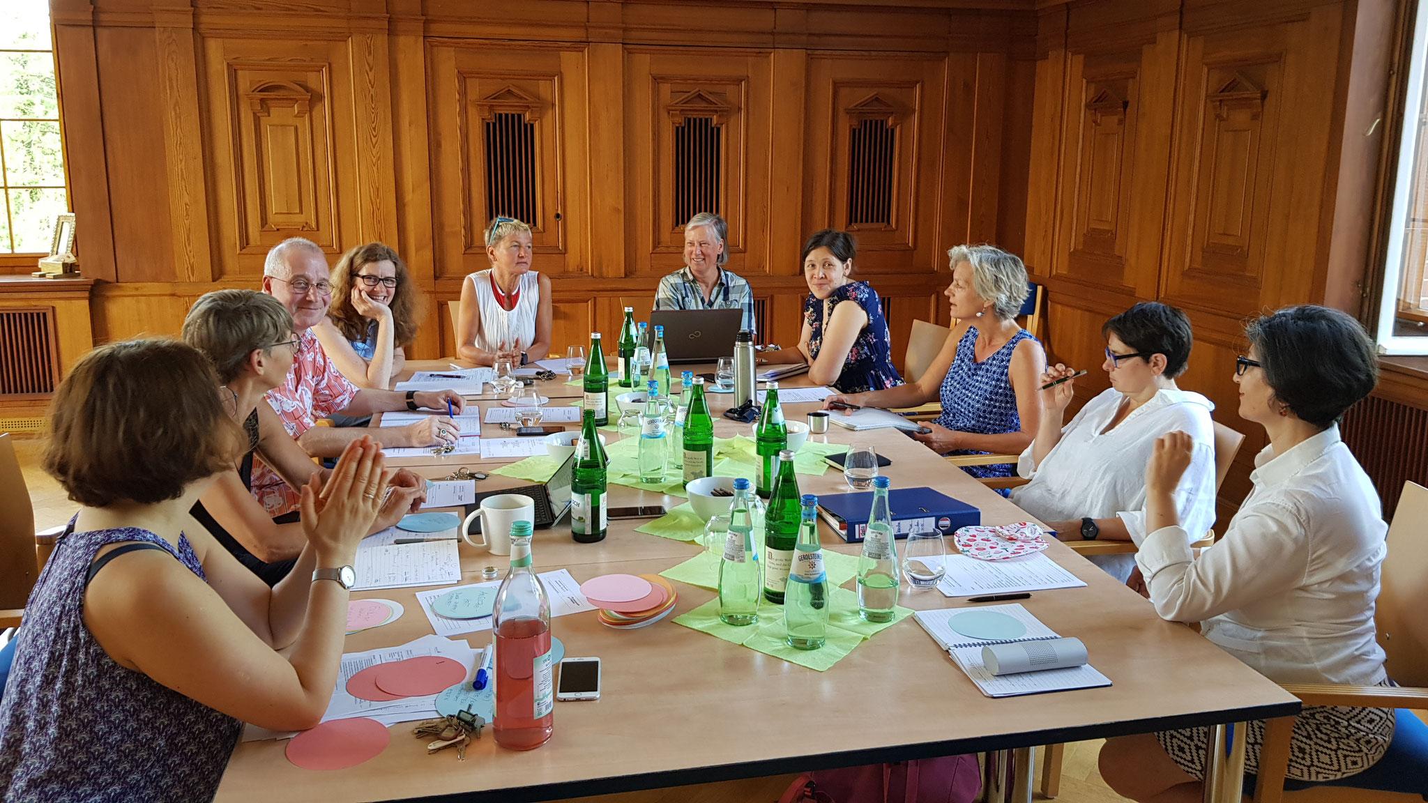 Workshop mit dem Kollegium des Support- und DiaLOG-IN-Teams  - 06   2019
