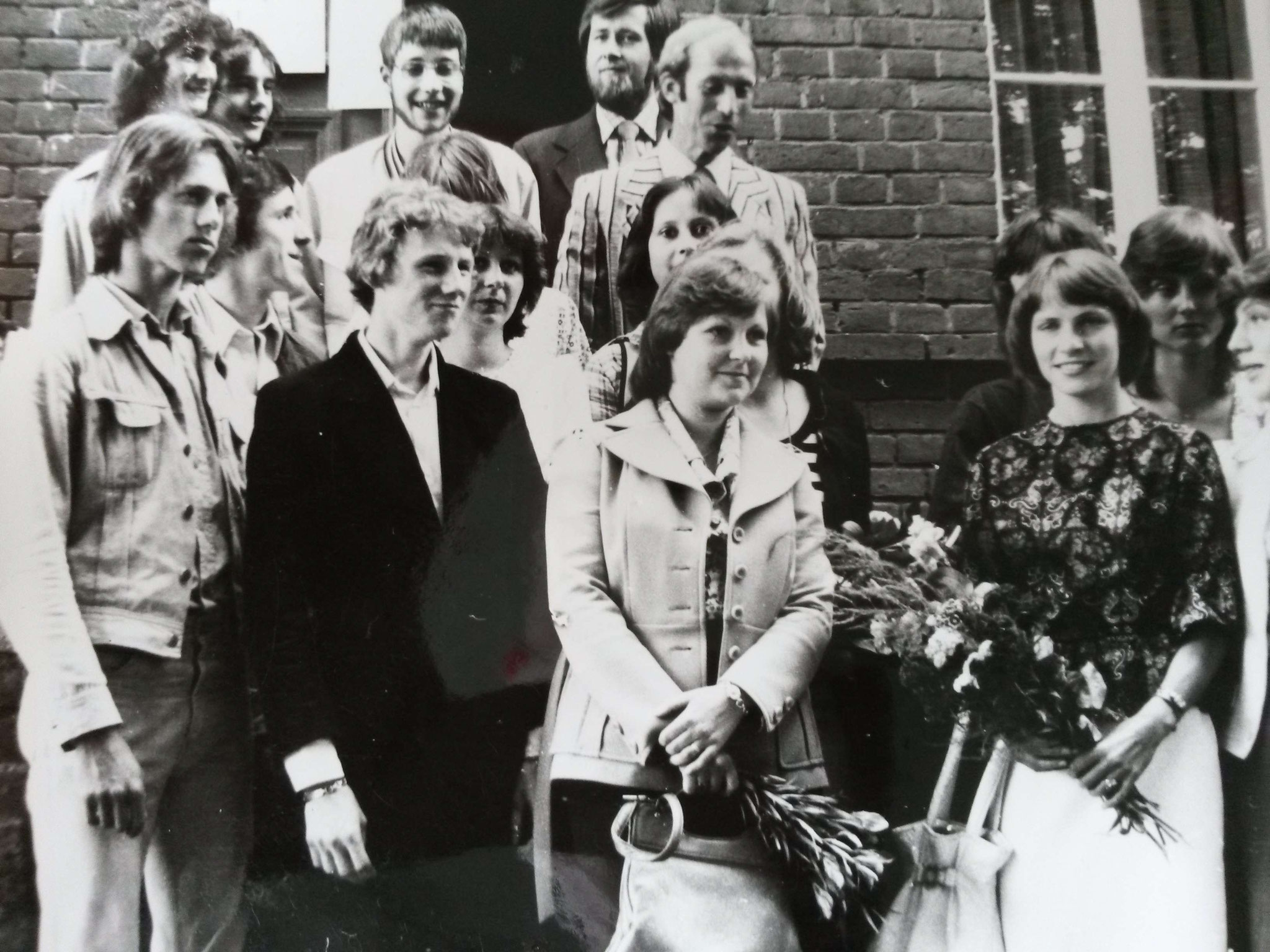 Abitur-Abschluss - 1978