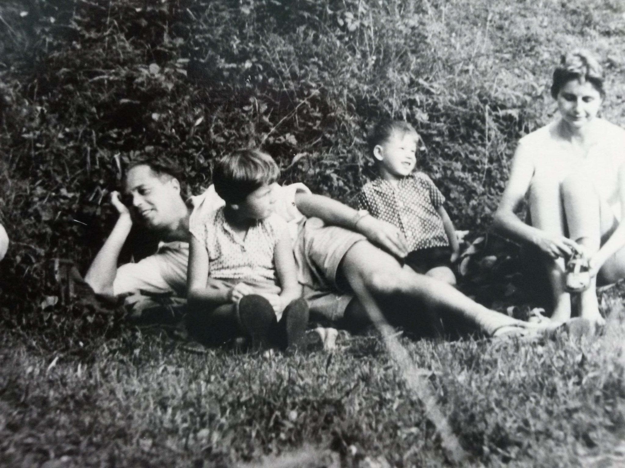 Familie Prautsch  - 1963