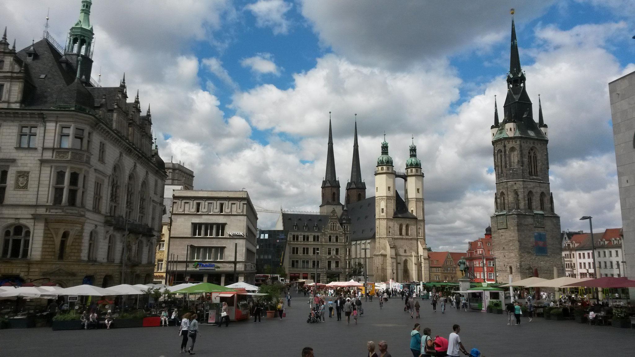 Halle (Saale) - Markt