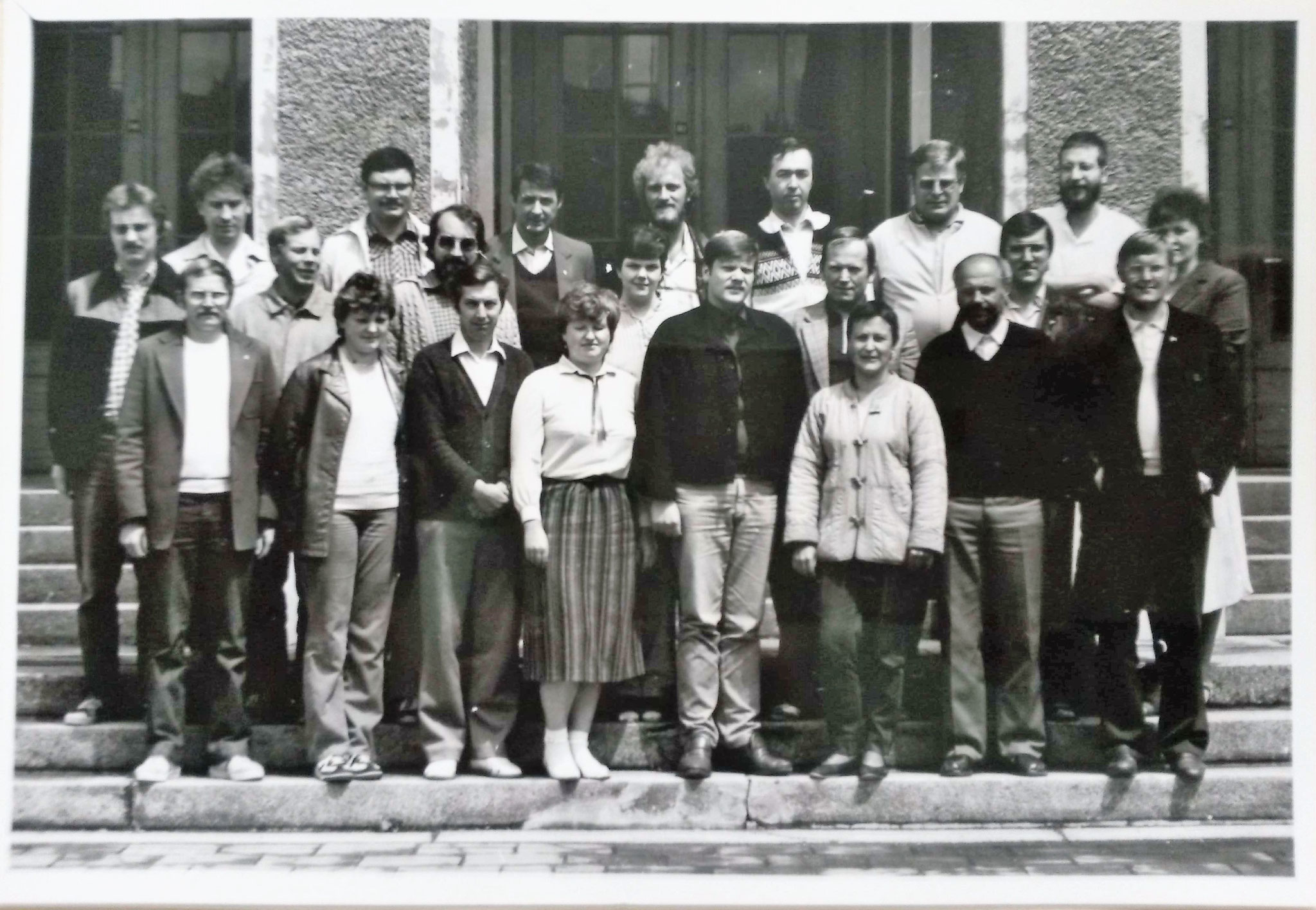 Führungskräfteseminar im Harz - 1985