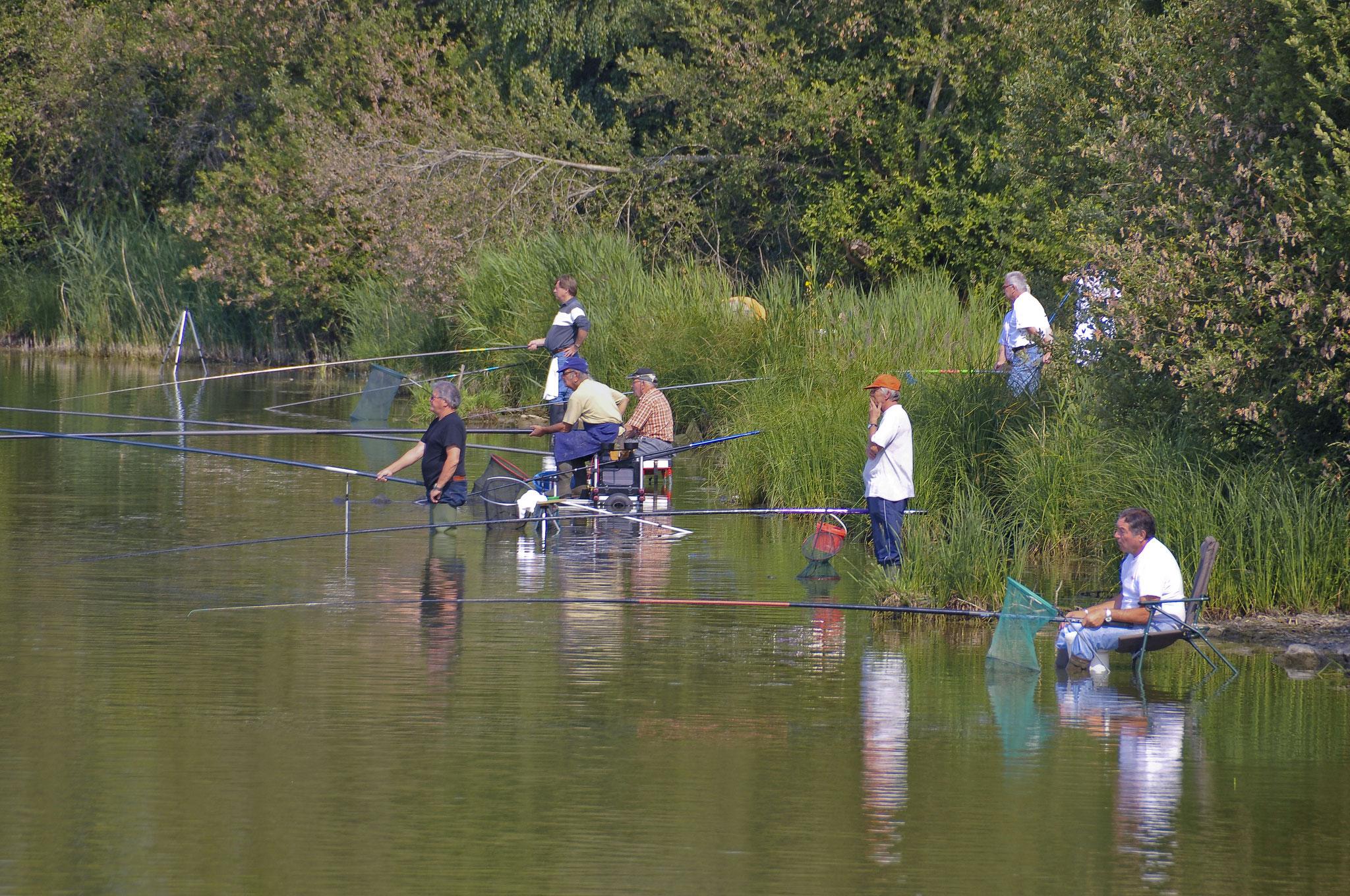Concours de pêche à l'Etang du Perray