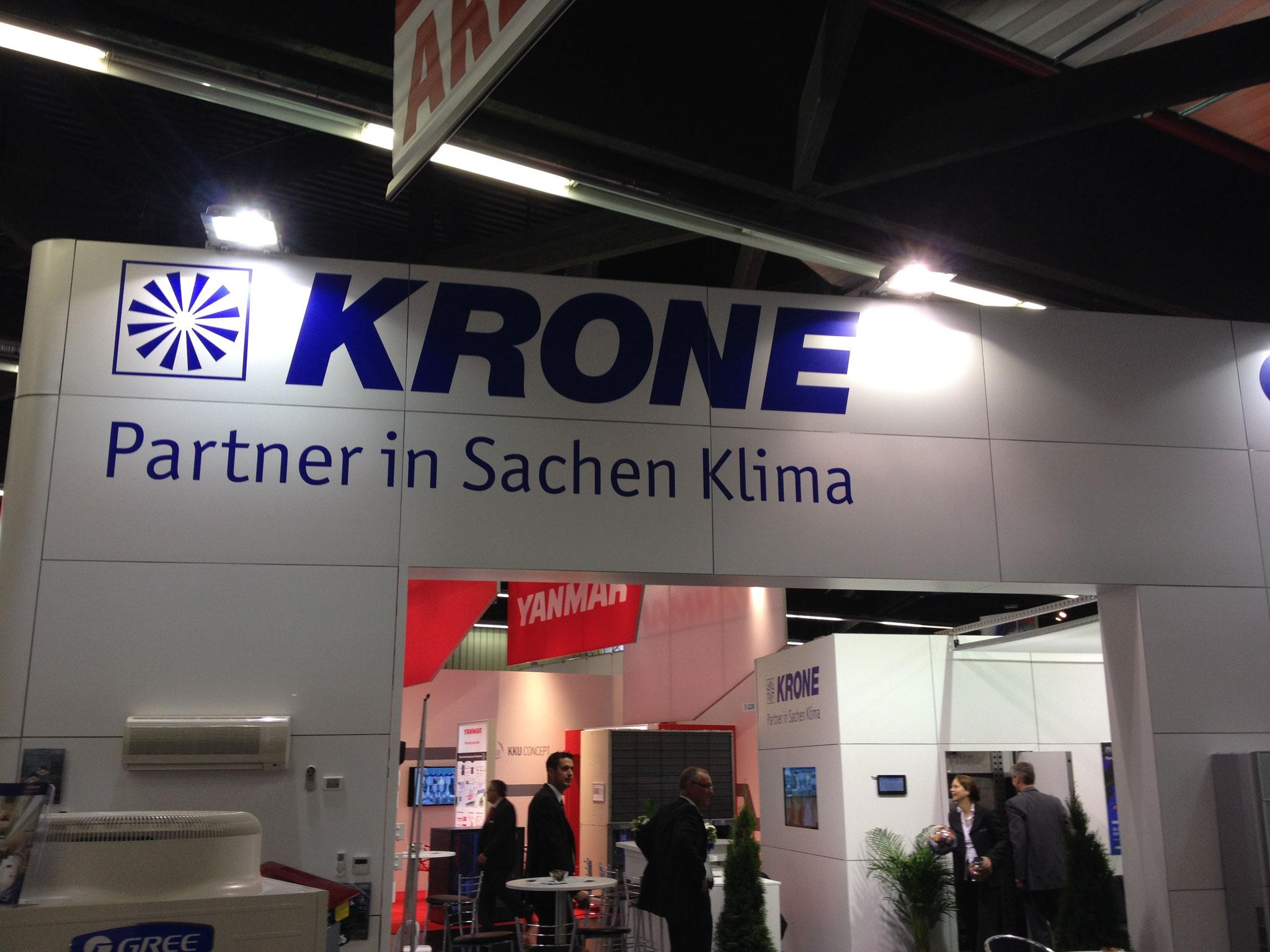 KRONE AG Chillventa Nürnberg Ausstellung 2016