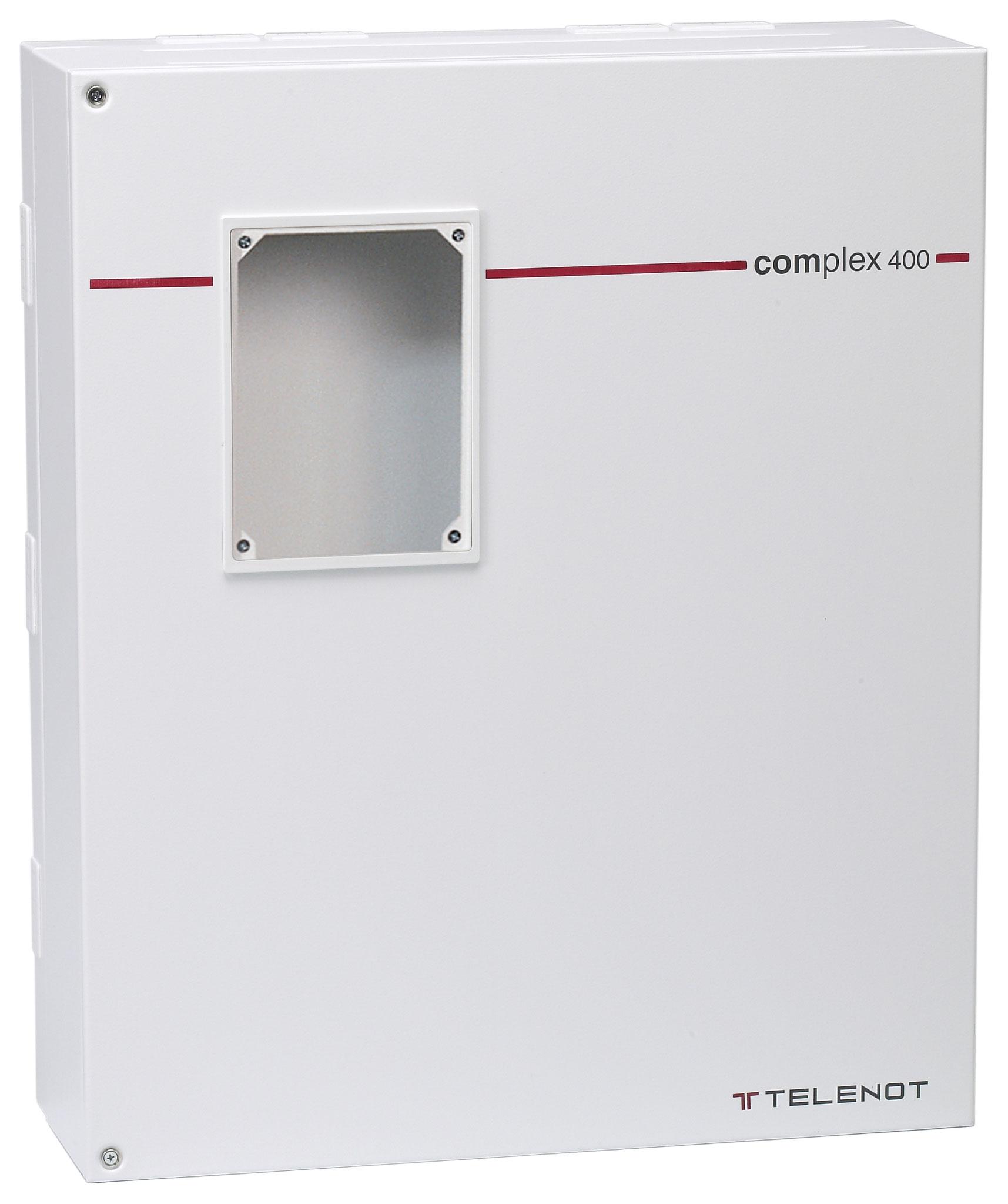 Telenot Complex 400H Im Gehäuse S10/2 ohne BT