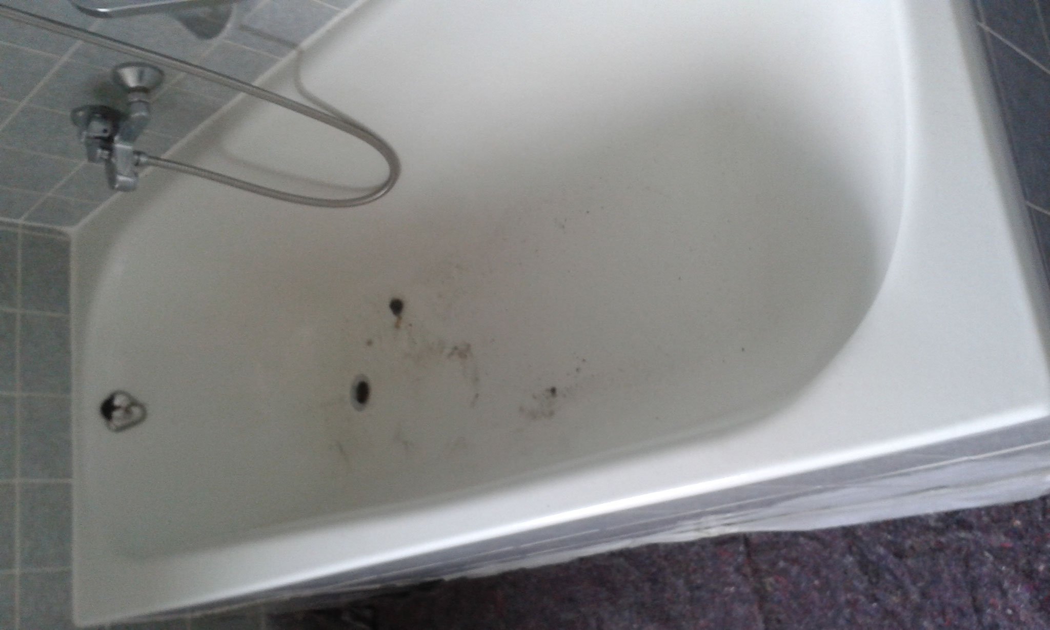 die alte Badewanne
