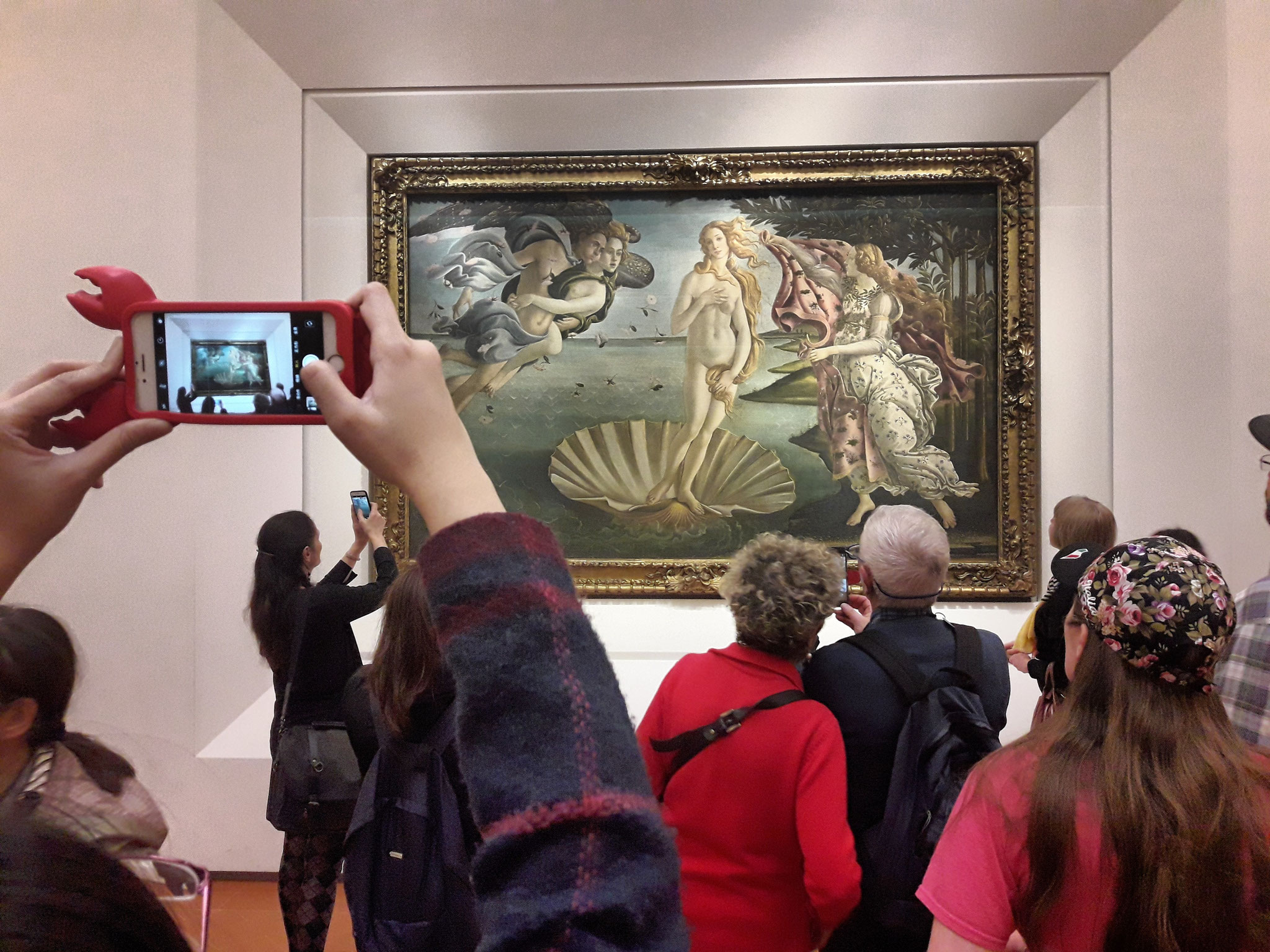 The Birth of Venus, Galleria degli Uffizi