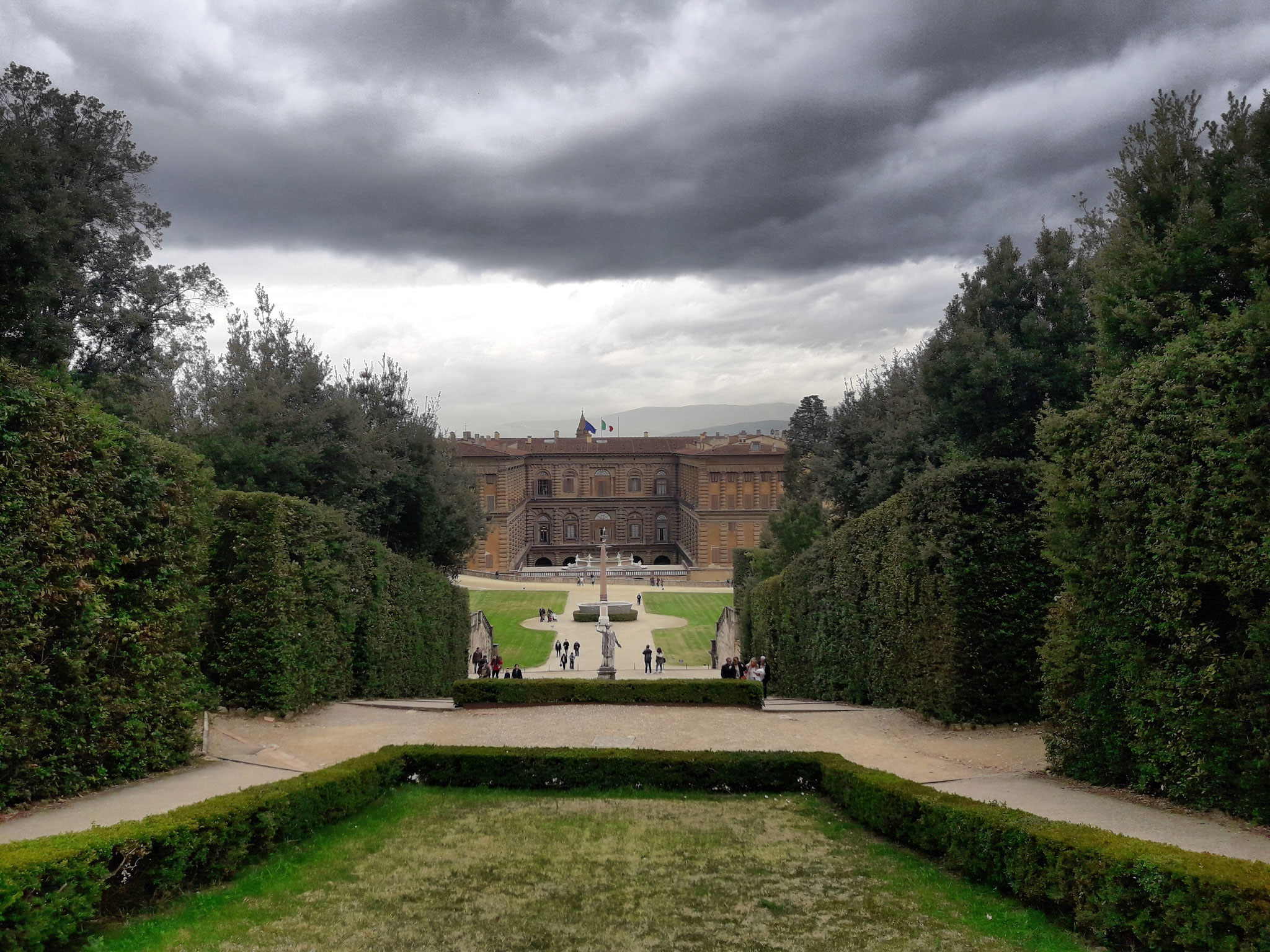 De tuinen van het Palazzo Pitti
