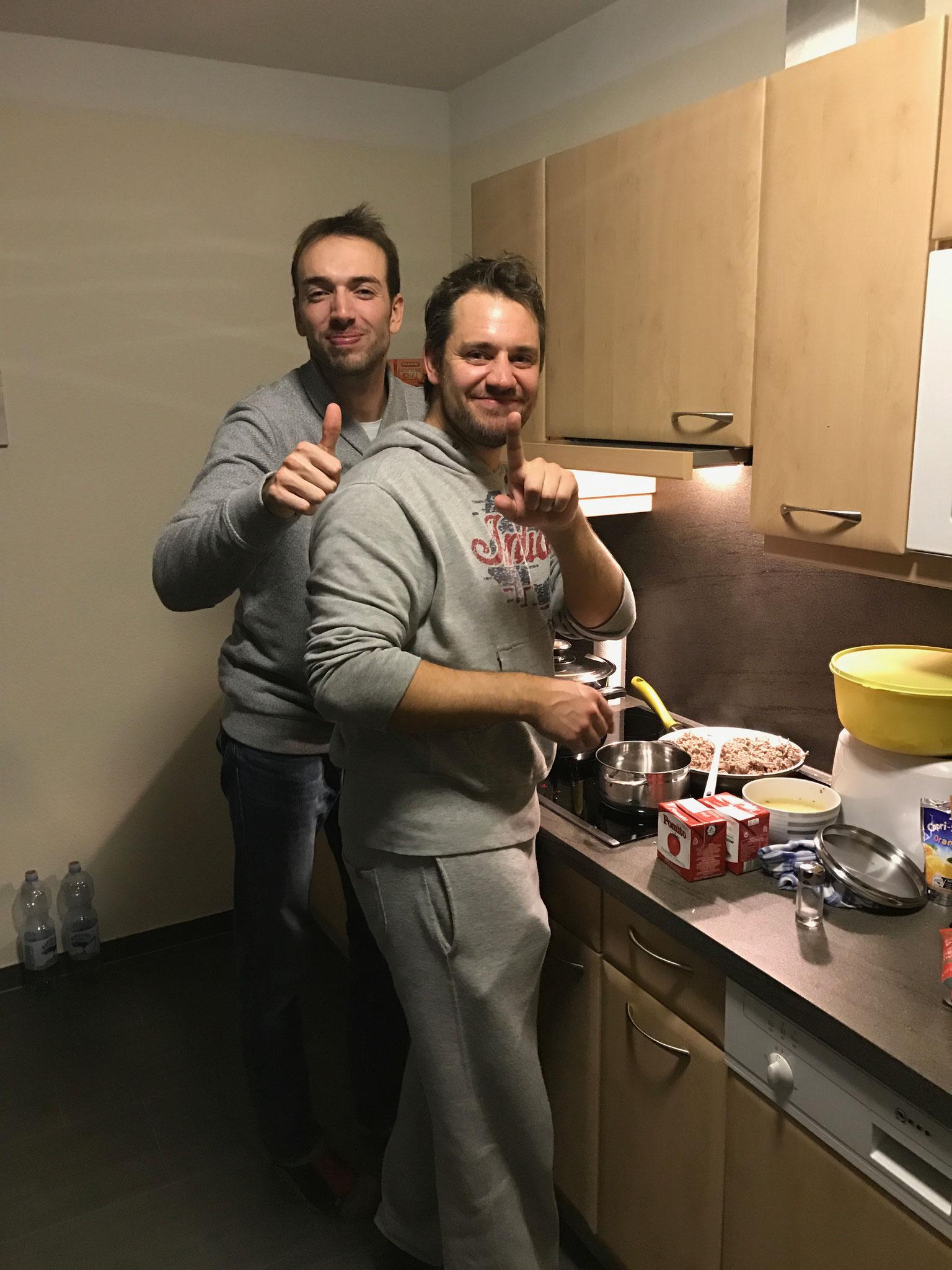 die 2 Chefkochs