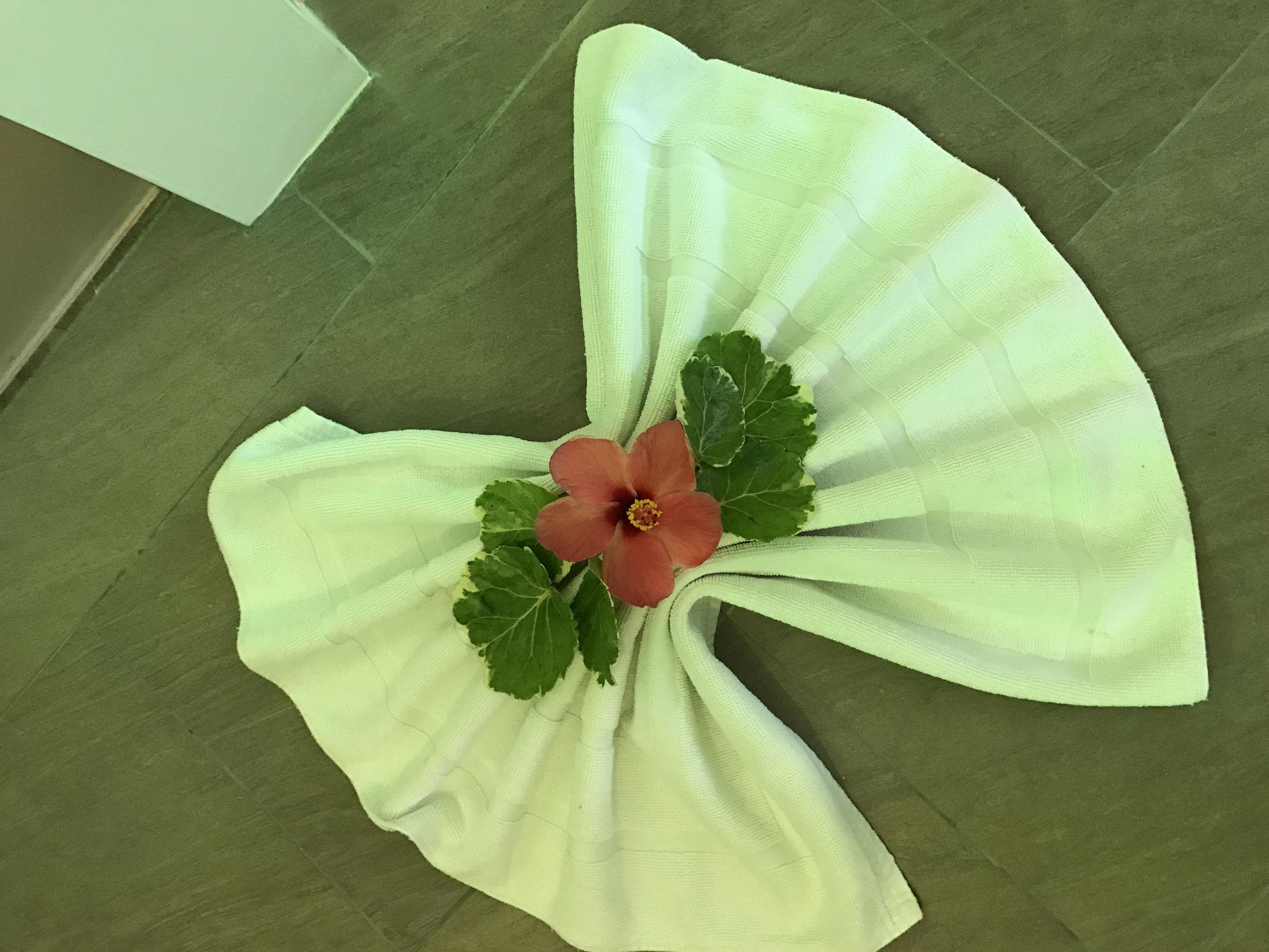 süße Blumendeko
