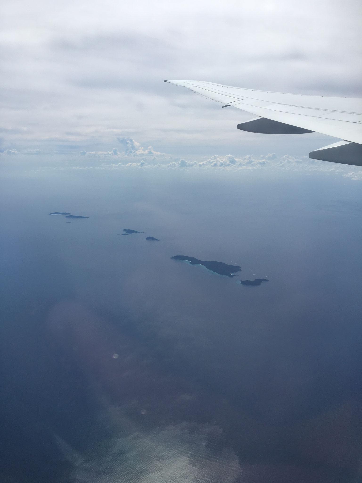 Similand Islands von oben