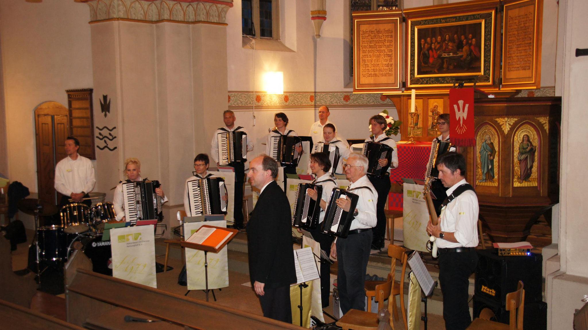 Kirchenkonzert 20.Juni 2016