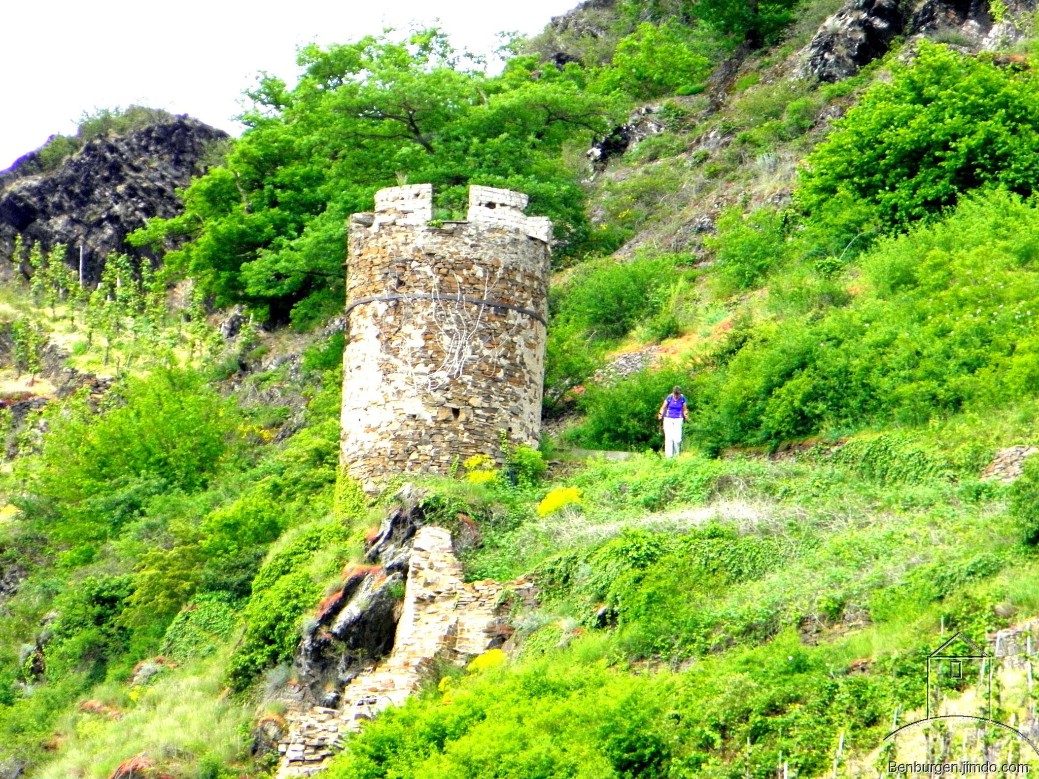 Der Hexenturm.