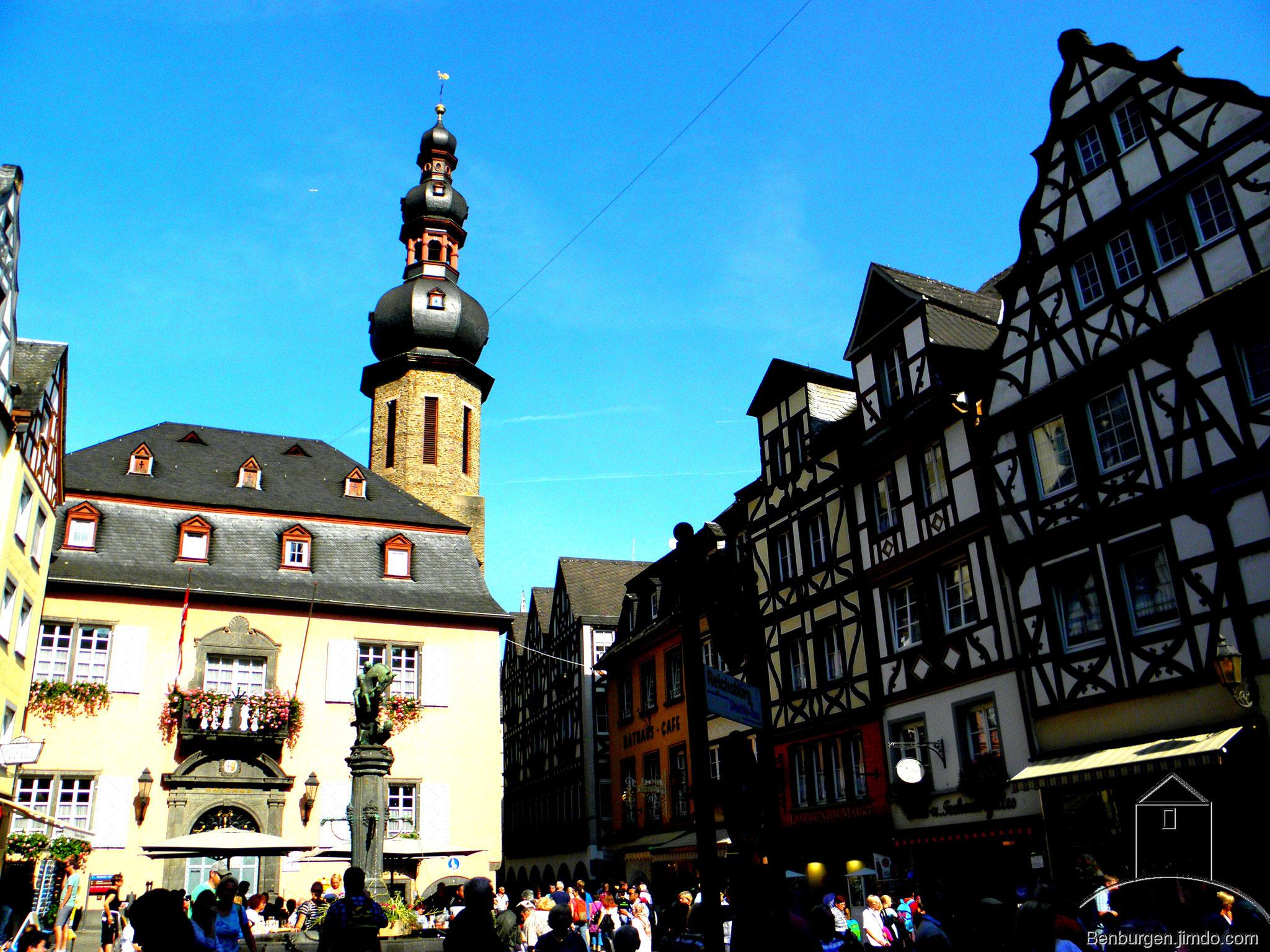 Marktplatz von Cochem.