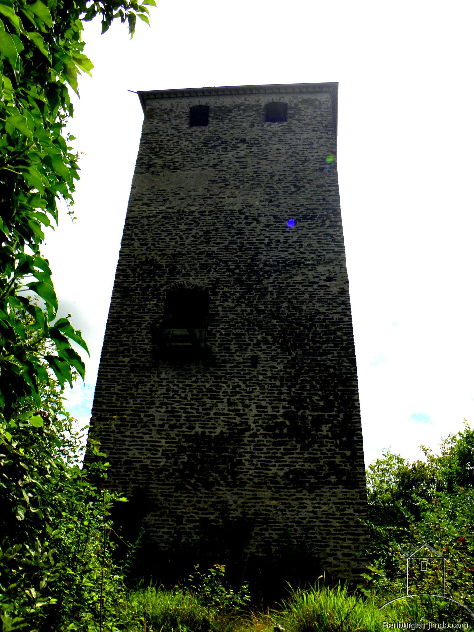 Bergfried der Burg Treis.