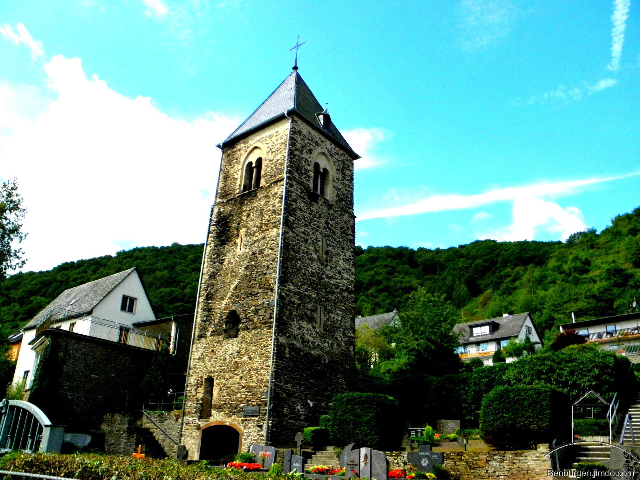 Ehemalige Kirche im Ortsteil Karden.