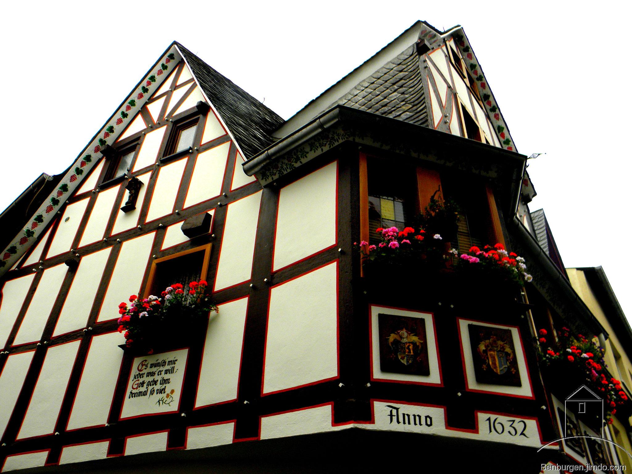 Fachwerkgebäude aus dem 17. Jahrhundert.