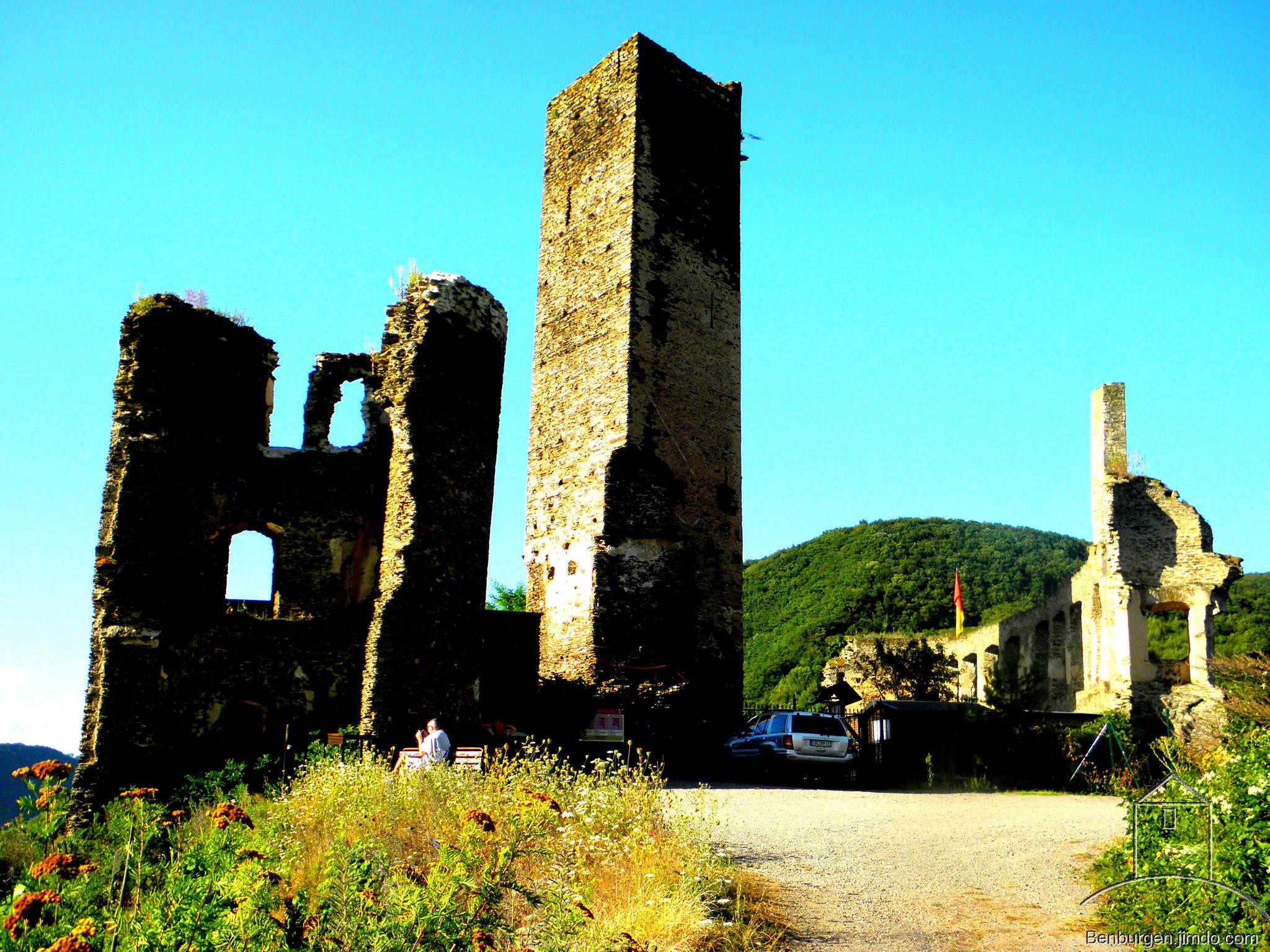 Gesamtansicht. Burg Metternich