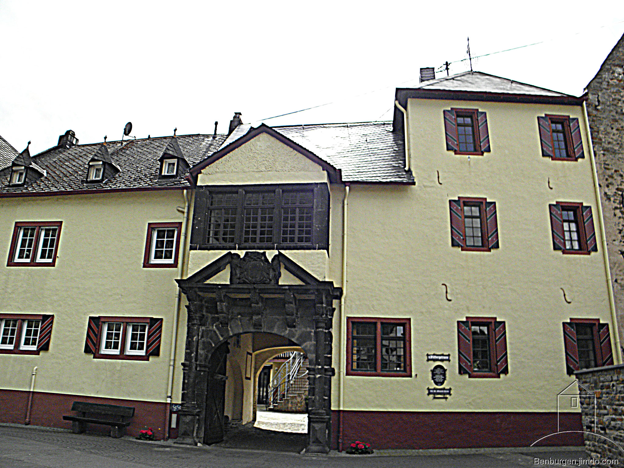 Die Wildburg in Alken.