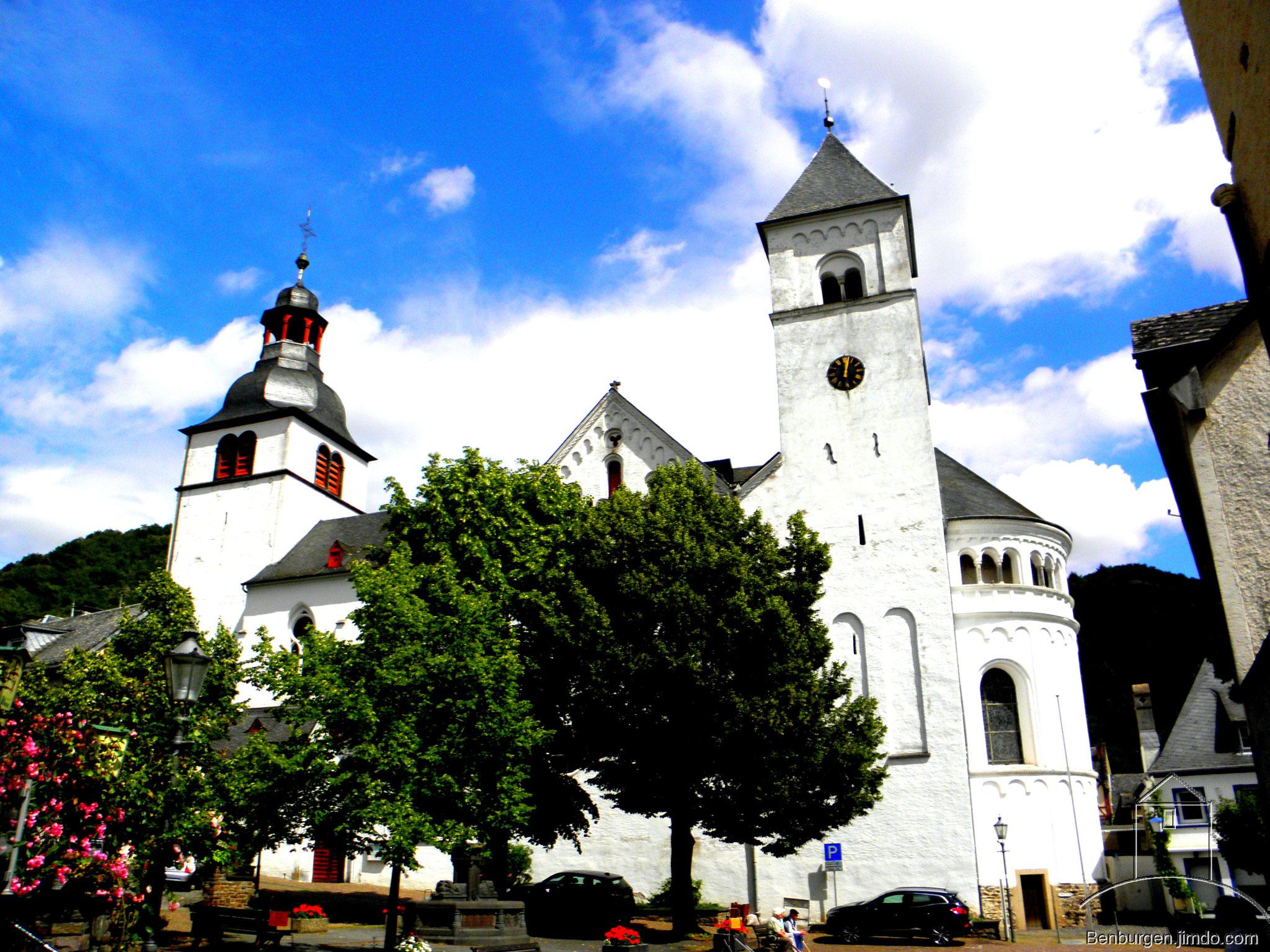 Stiftskirche St. Kastor, auch Dom genannt.