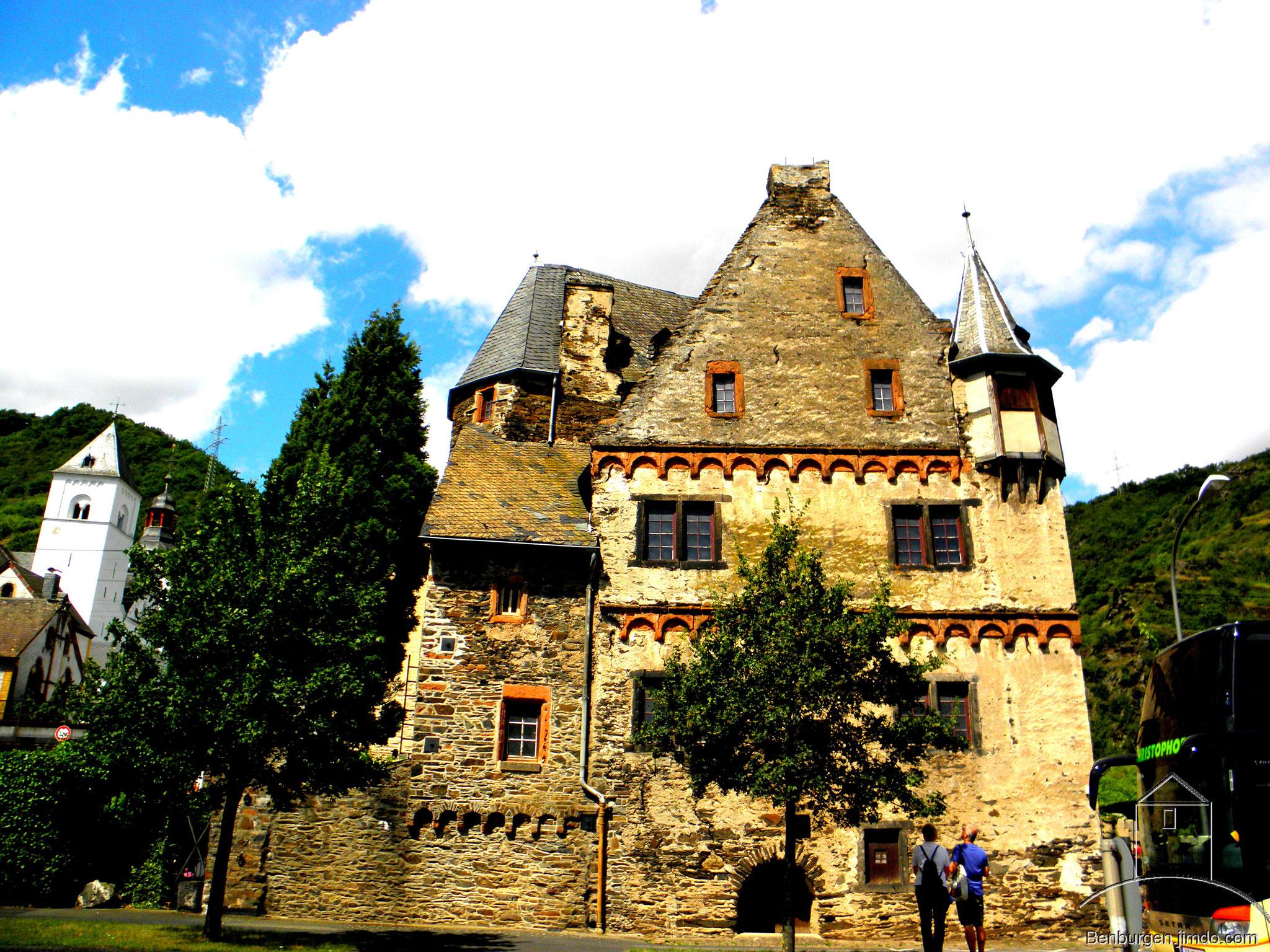 Altes Burgmannenhaus aus dem 16. Jahrhundert.