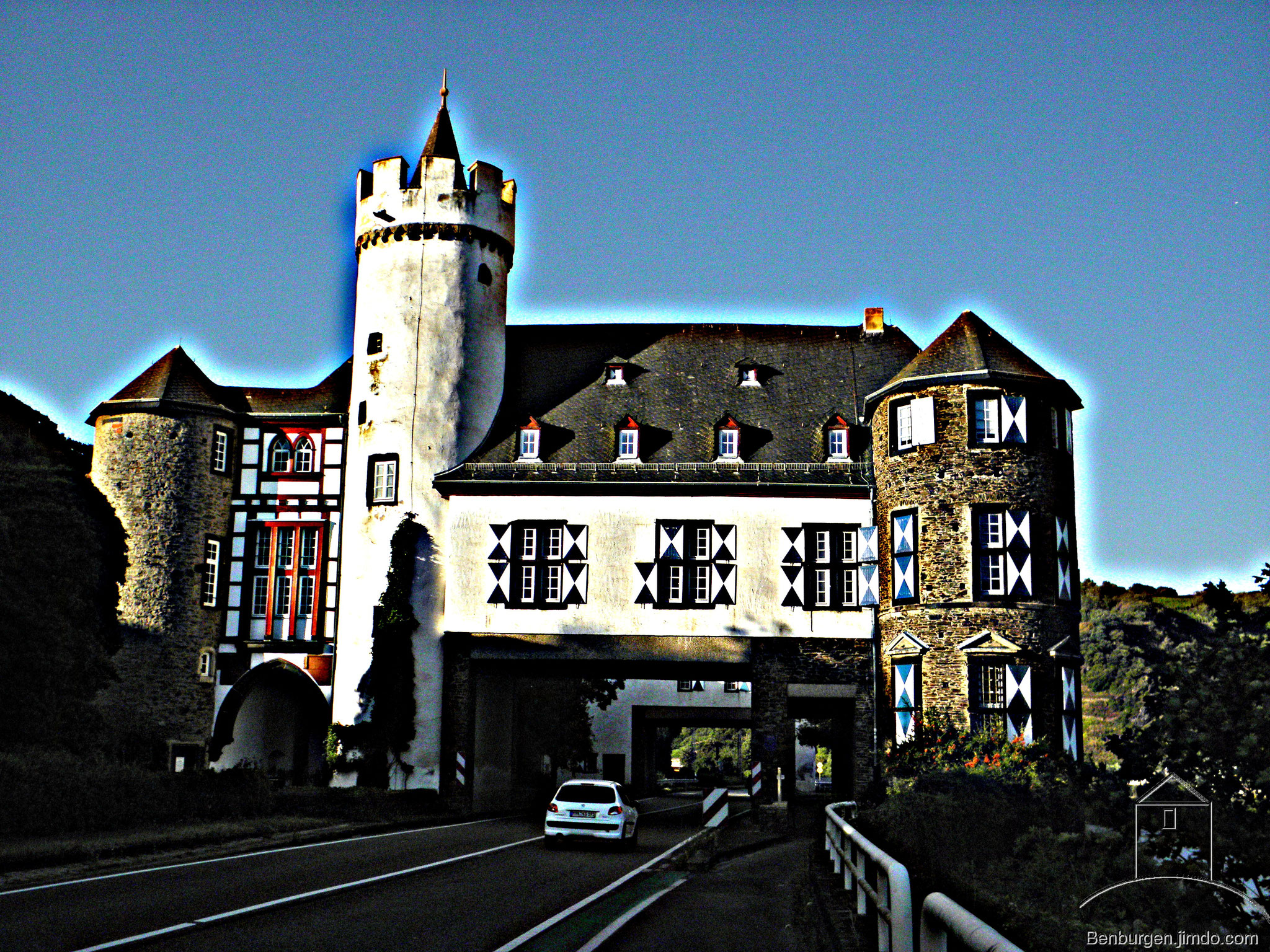 Oberburg Gondorf in Kobern-Gondorf.