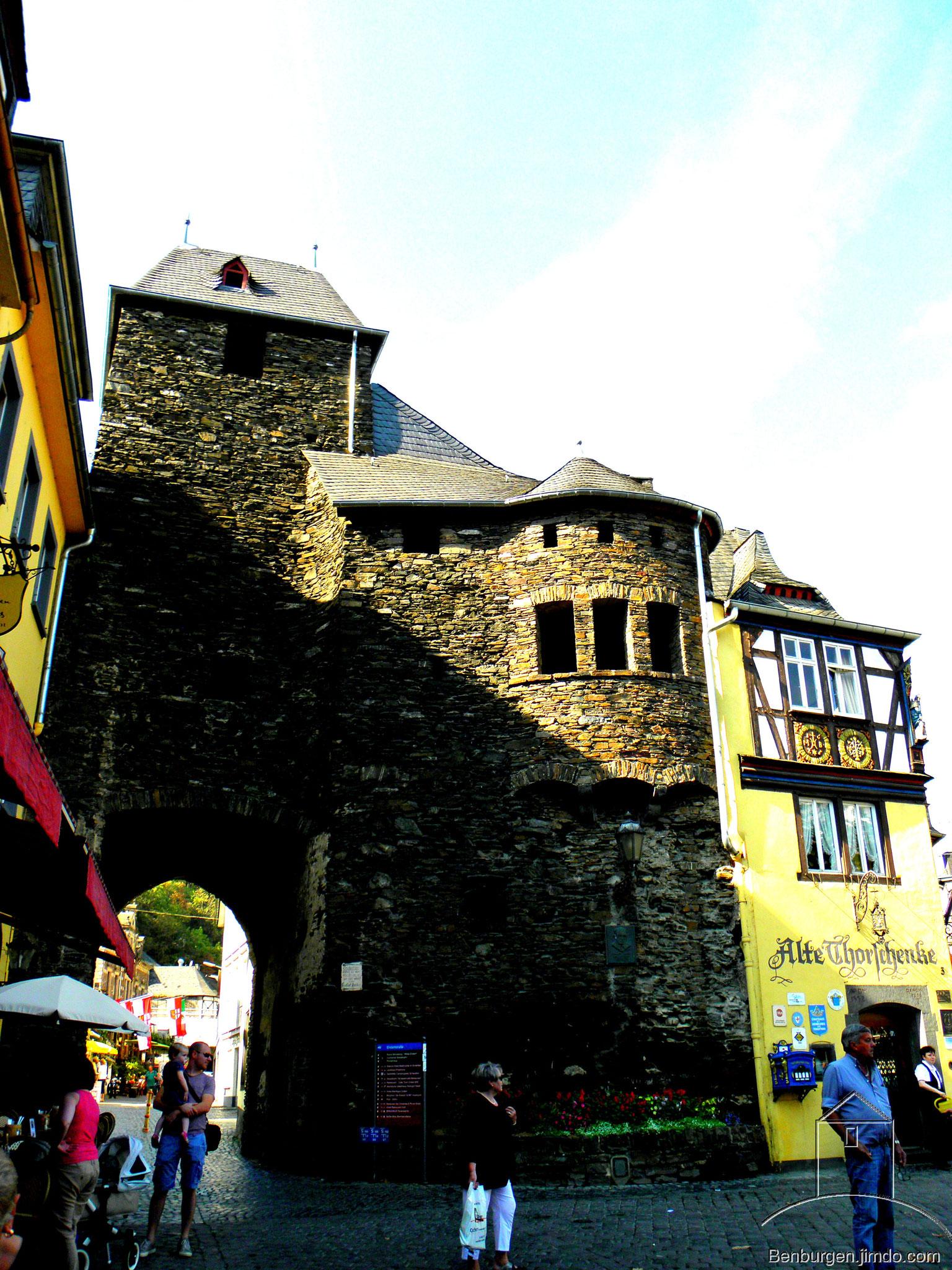 Tor der Stadtbefestigung von Cochem.