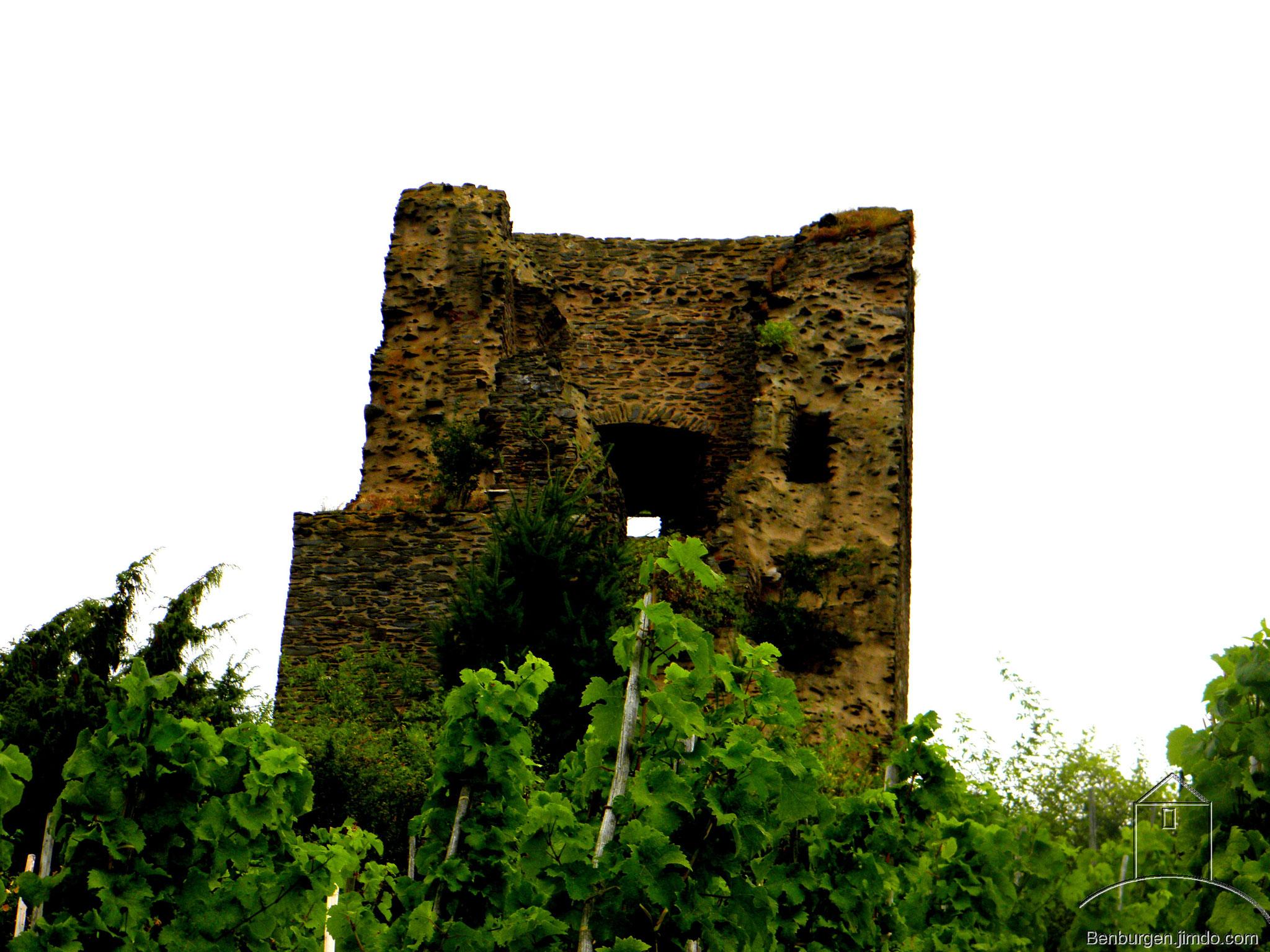 Bergfried der Burg Coraidelstein.