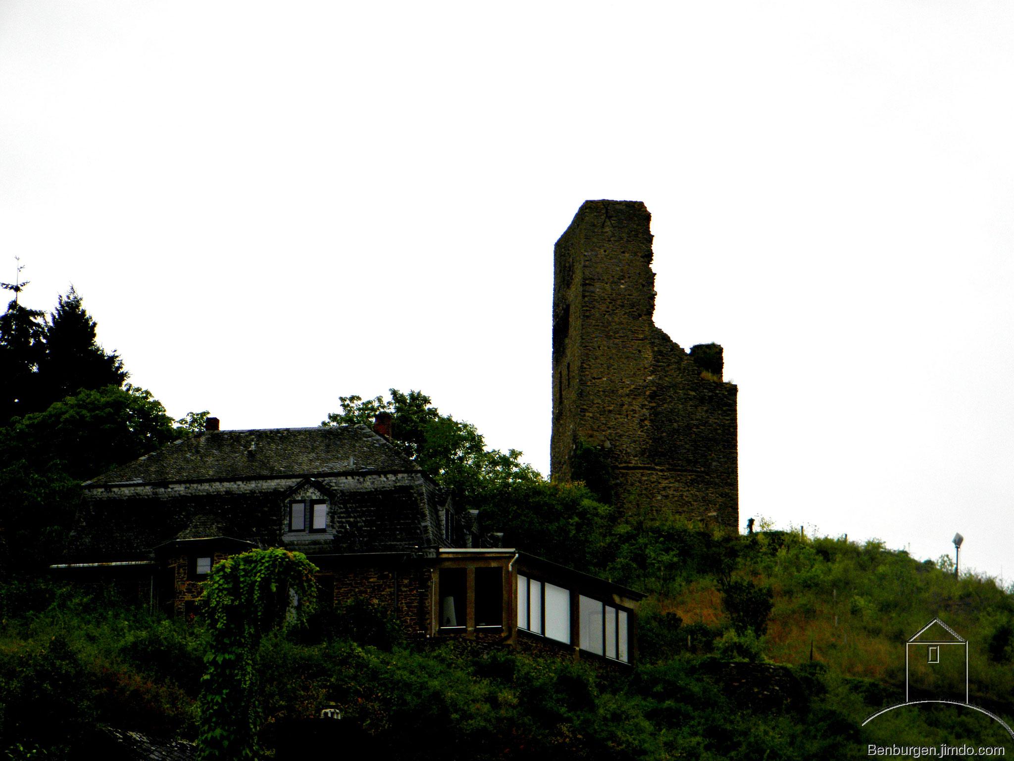 Gesamtansicht der Burg Coraidelstein.