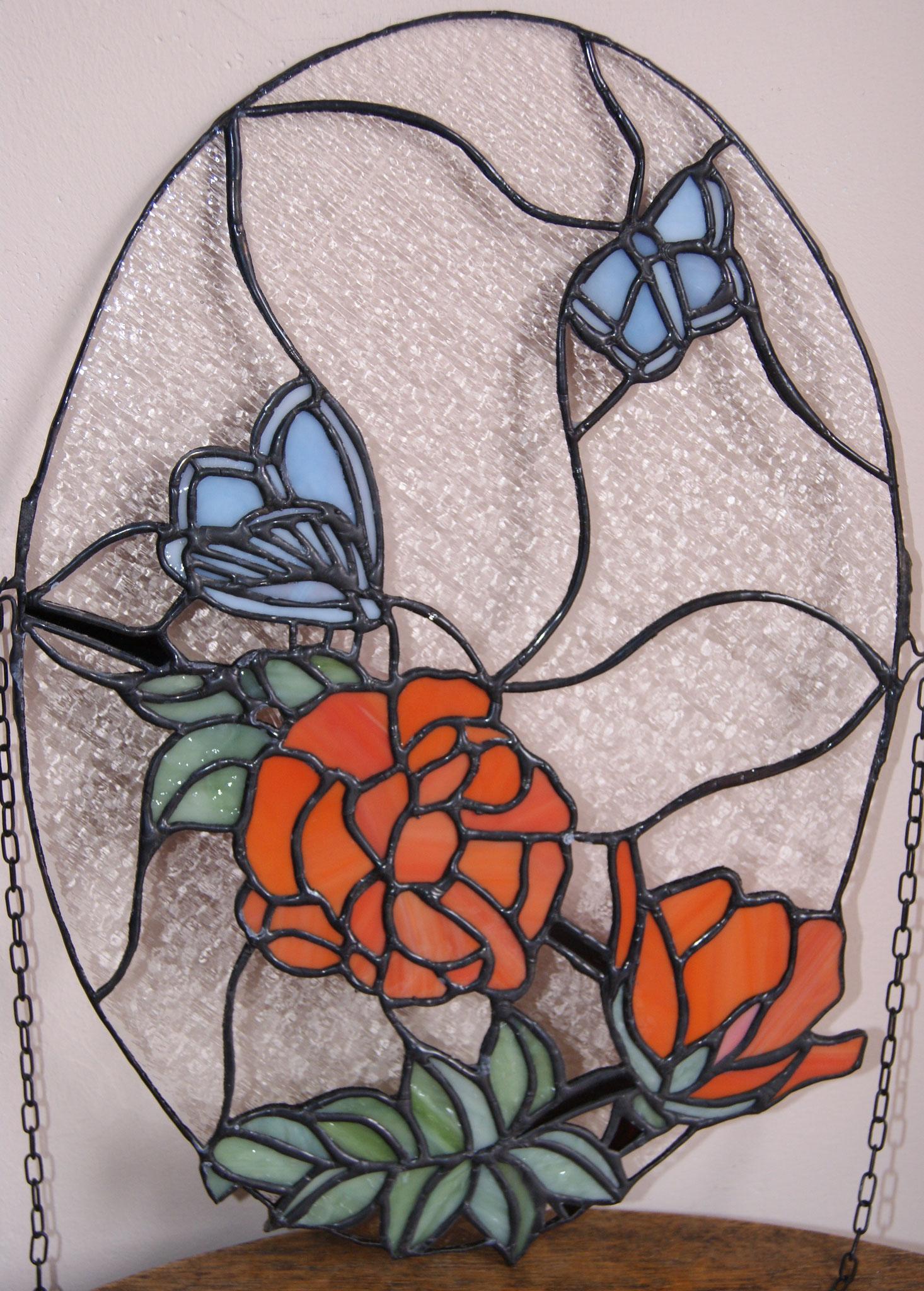 Trees'blauwe vlinders