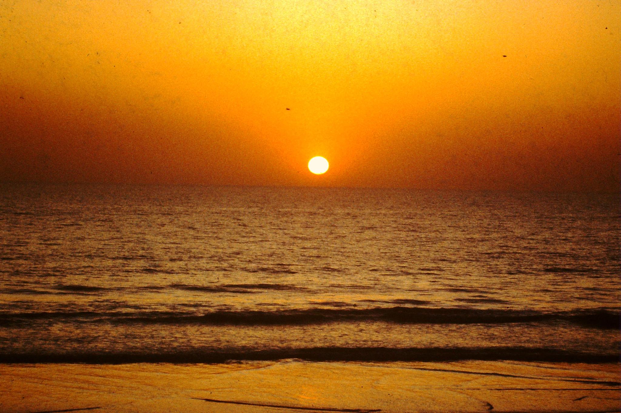 Sonnenuntergang in Agadir.