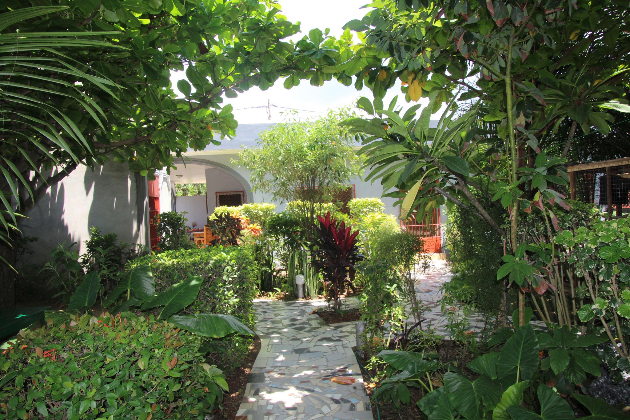21. Unser Garten.
