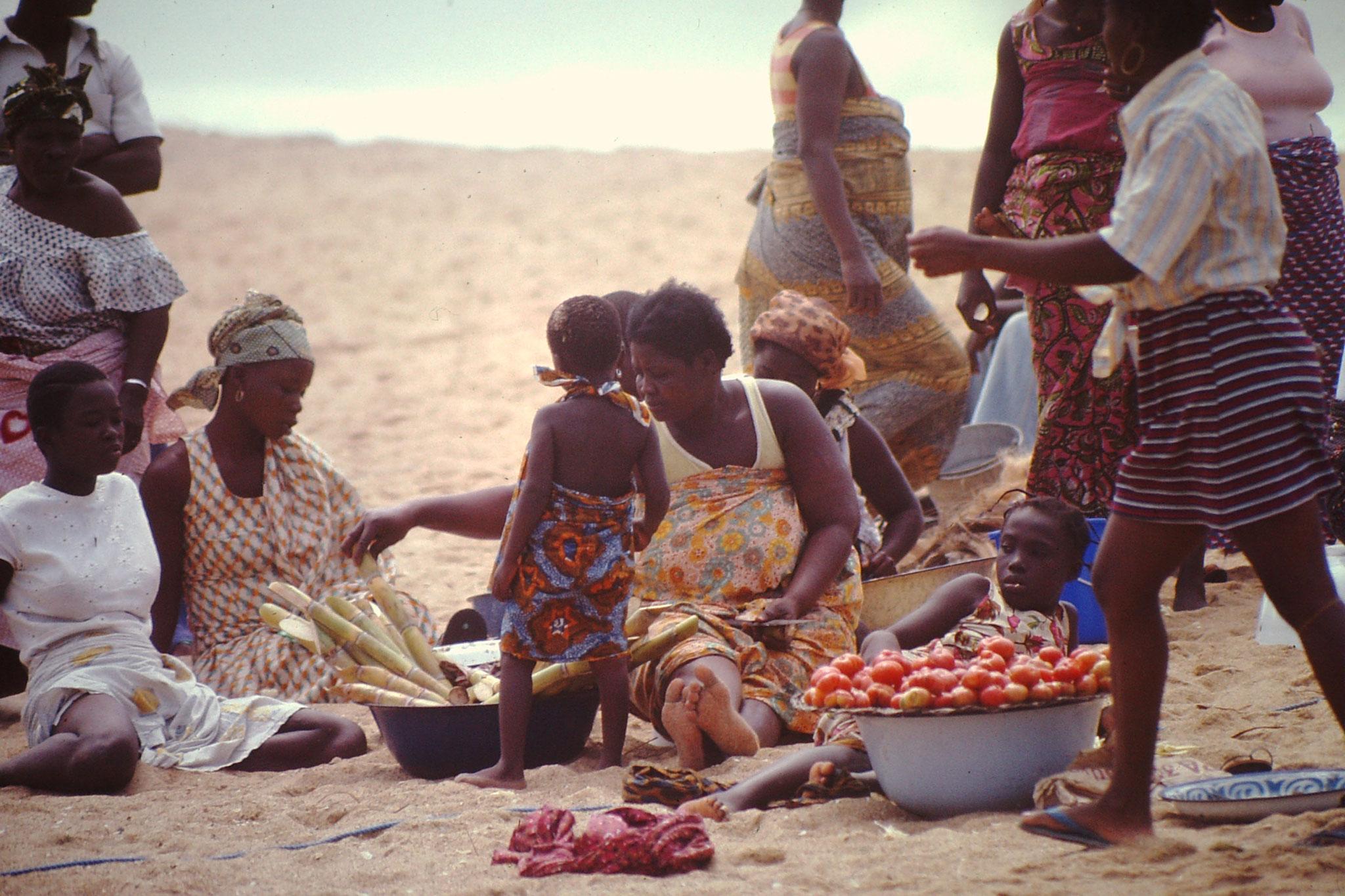Marktfrauen.