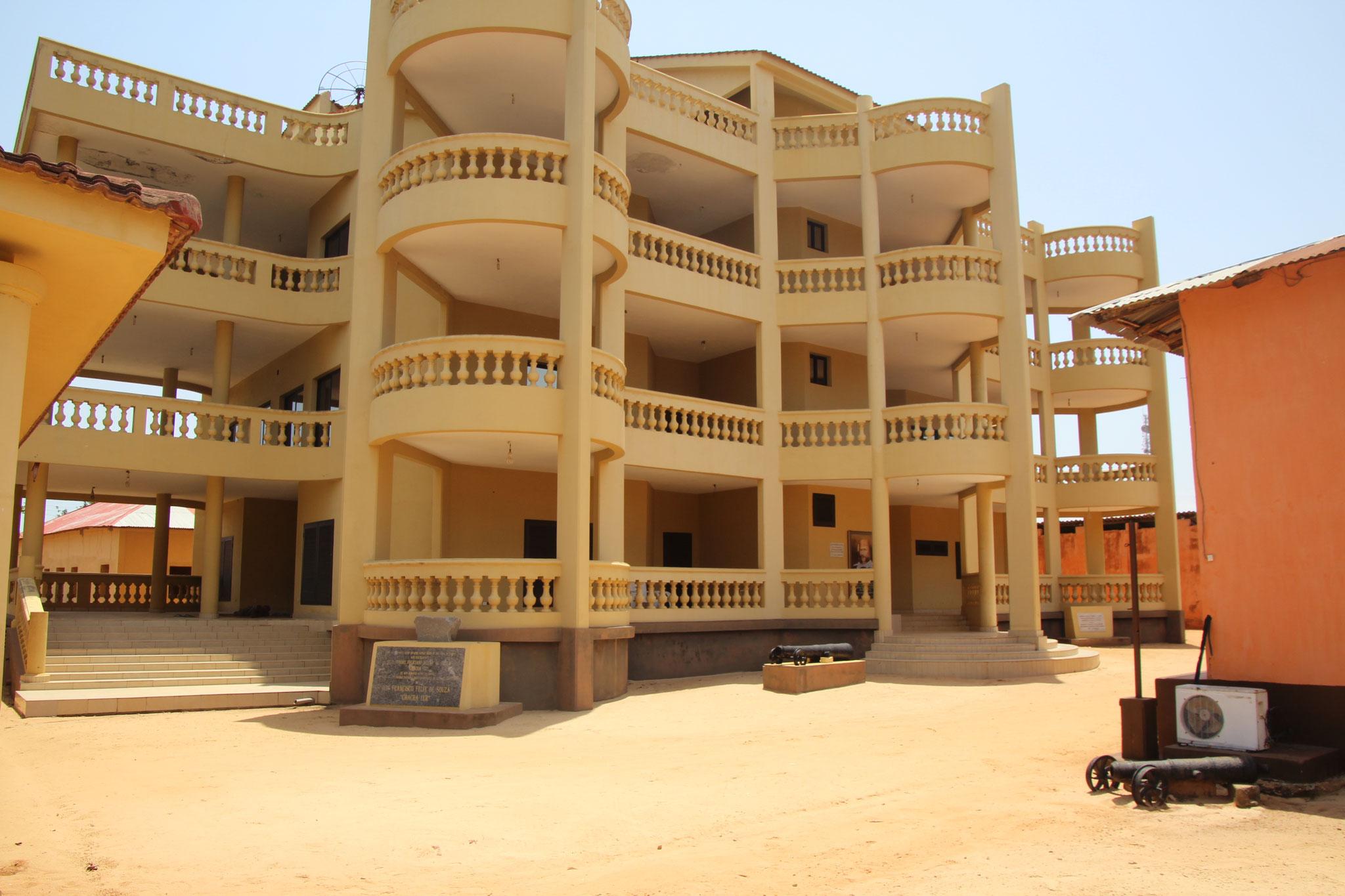 Ehemaliges Wohnhaus von de Souza.
