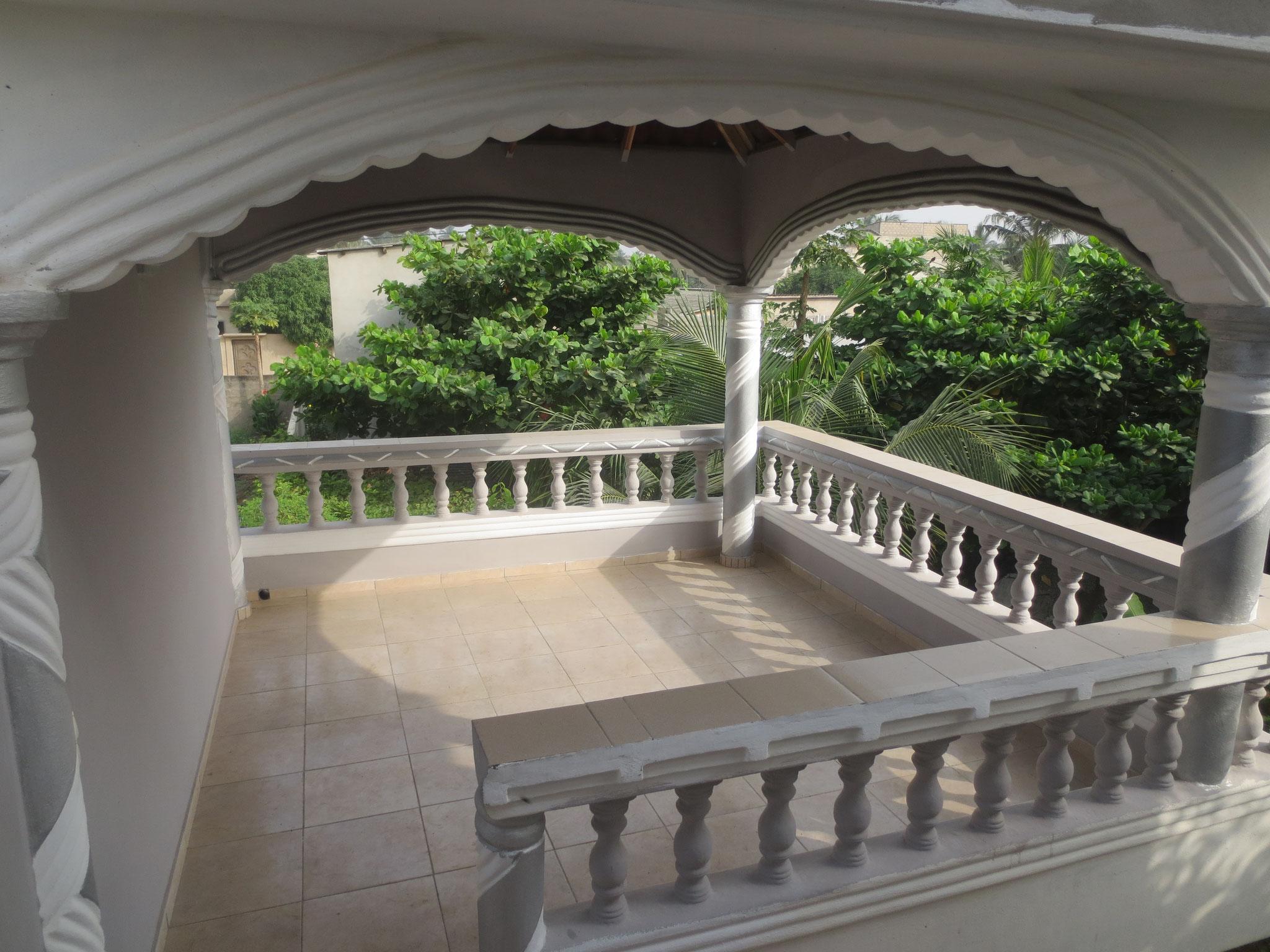 Die Terrasse.