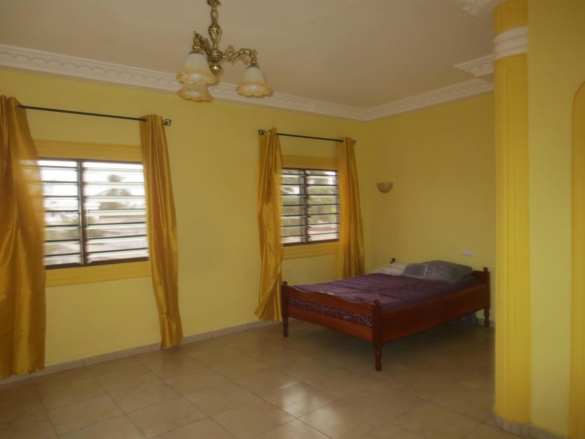 Wohn/Schlafzimmer im Apartement