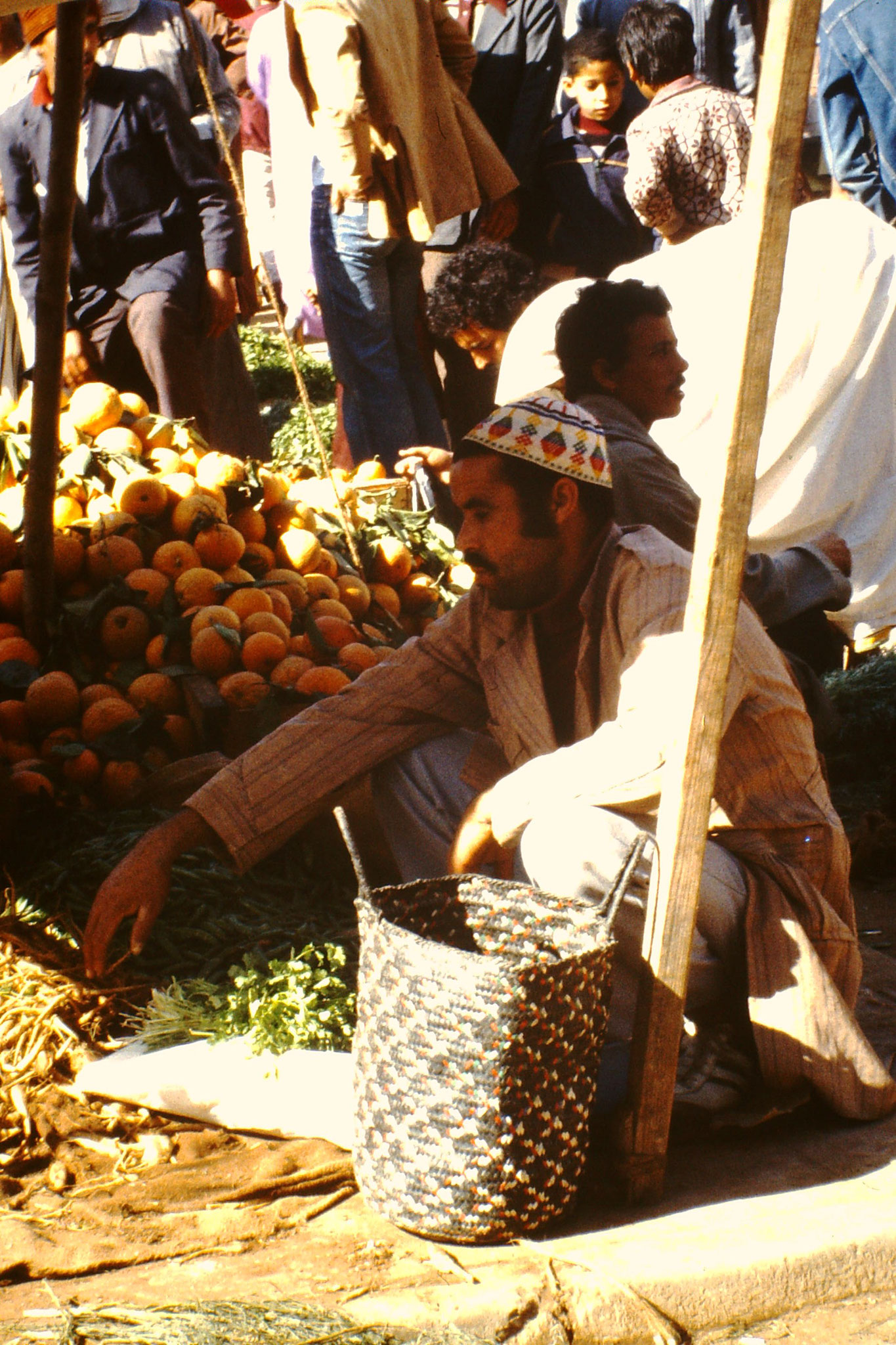 Auf dem Suk in Agadir