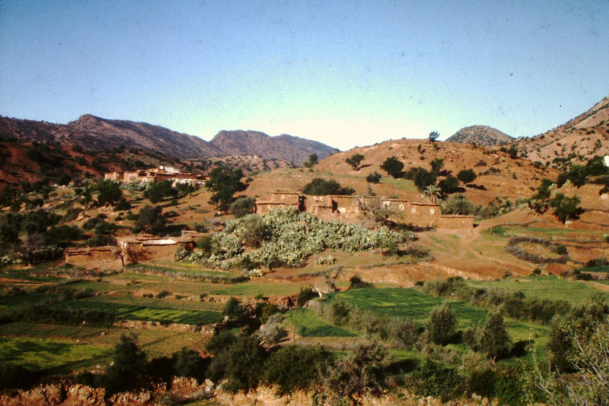Landschaft nördlich von Agadir.