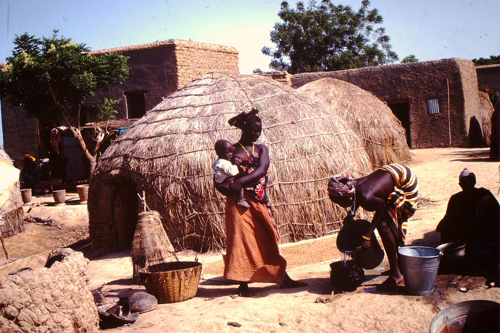 Dogon, Dorf bei Bandiagara.