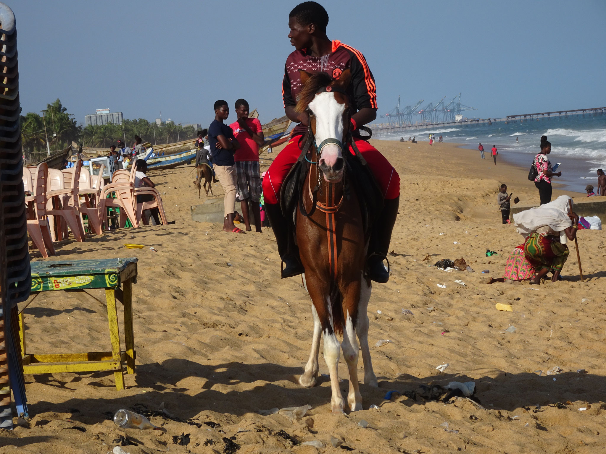 12. Reiter am Strand von Kodjoviakope