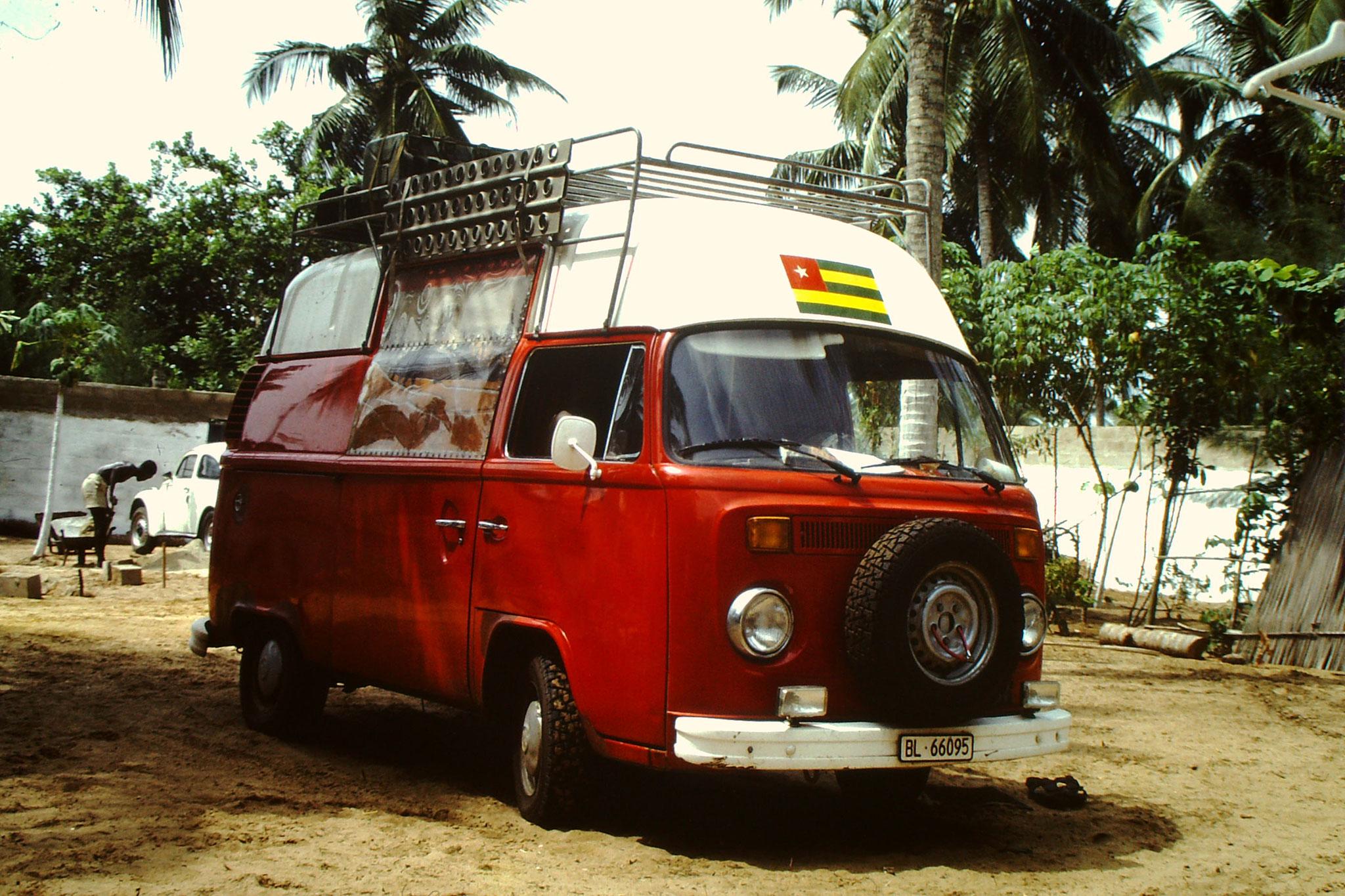 Mit diesem VW Bus durchquerte ich 1987 die Sahara. Es war meine  5. Saharadurchquerung.