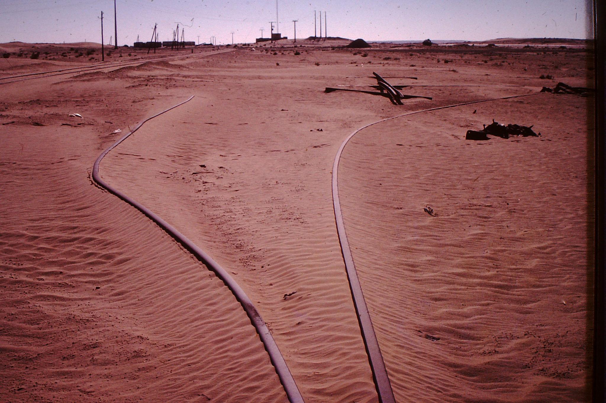 Ob das Unglück wegen dieser Verwerfungs des Gleises war, ist mir nicht bekannt.