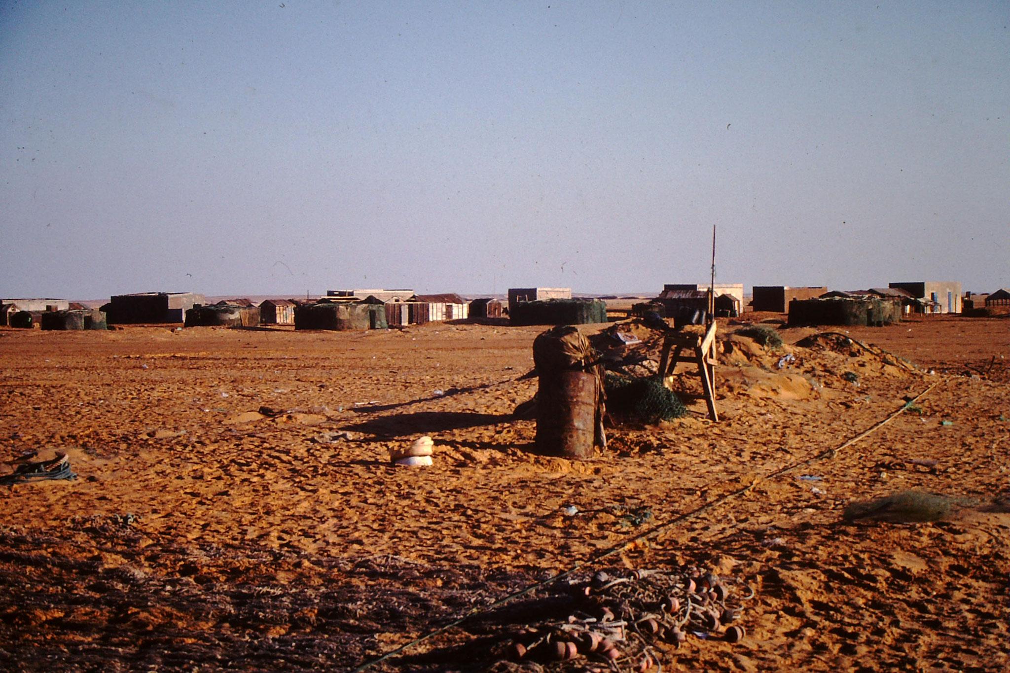 Siedlung in der Wüste.