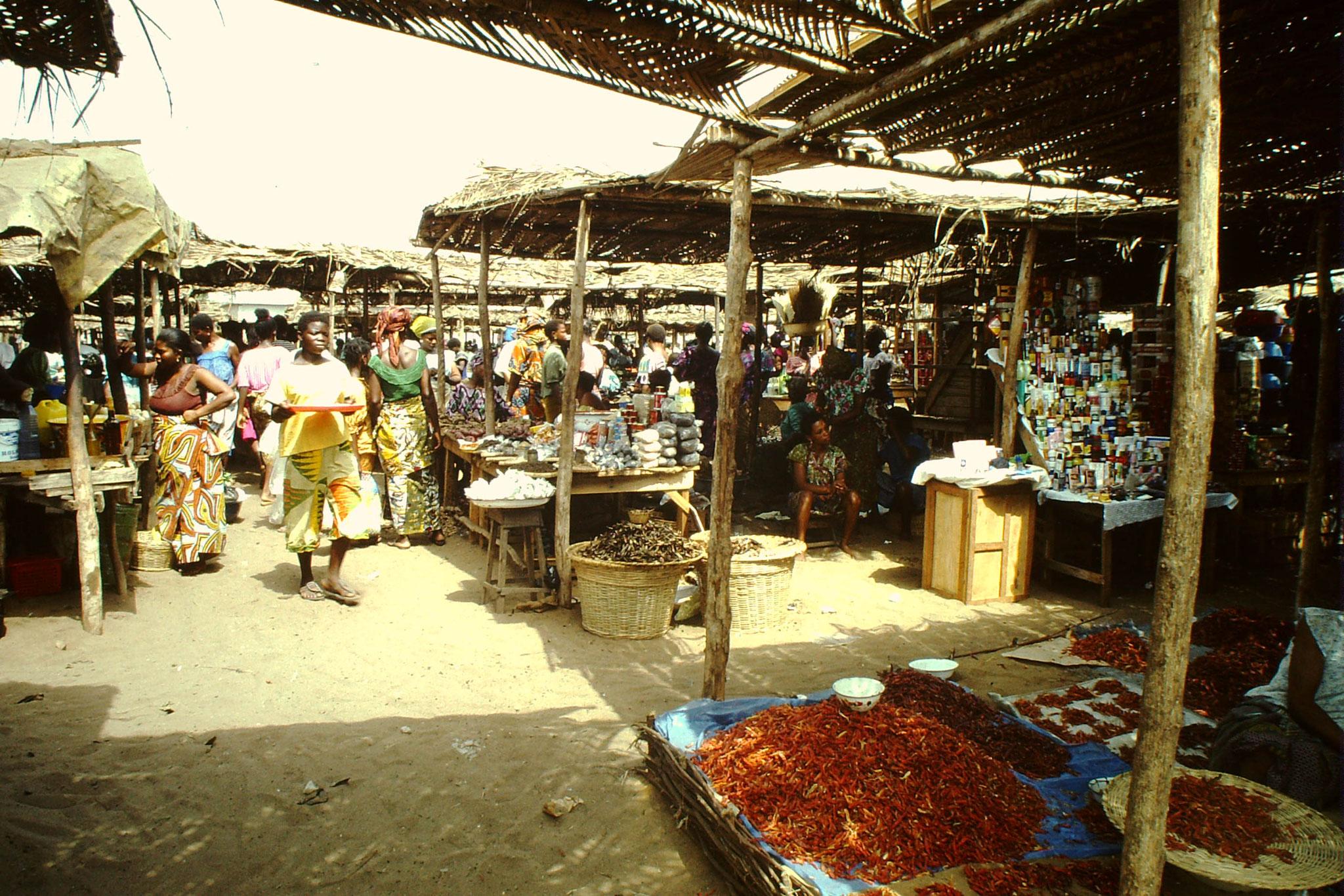 Gemüse und Gewürze Markt.